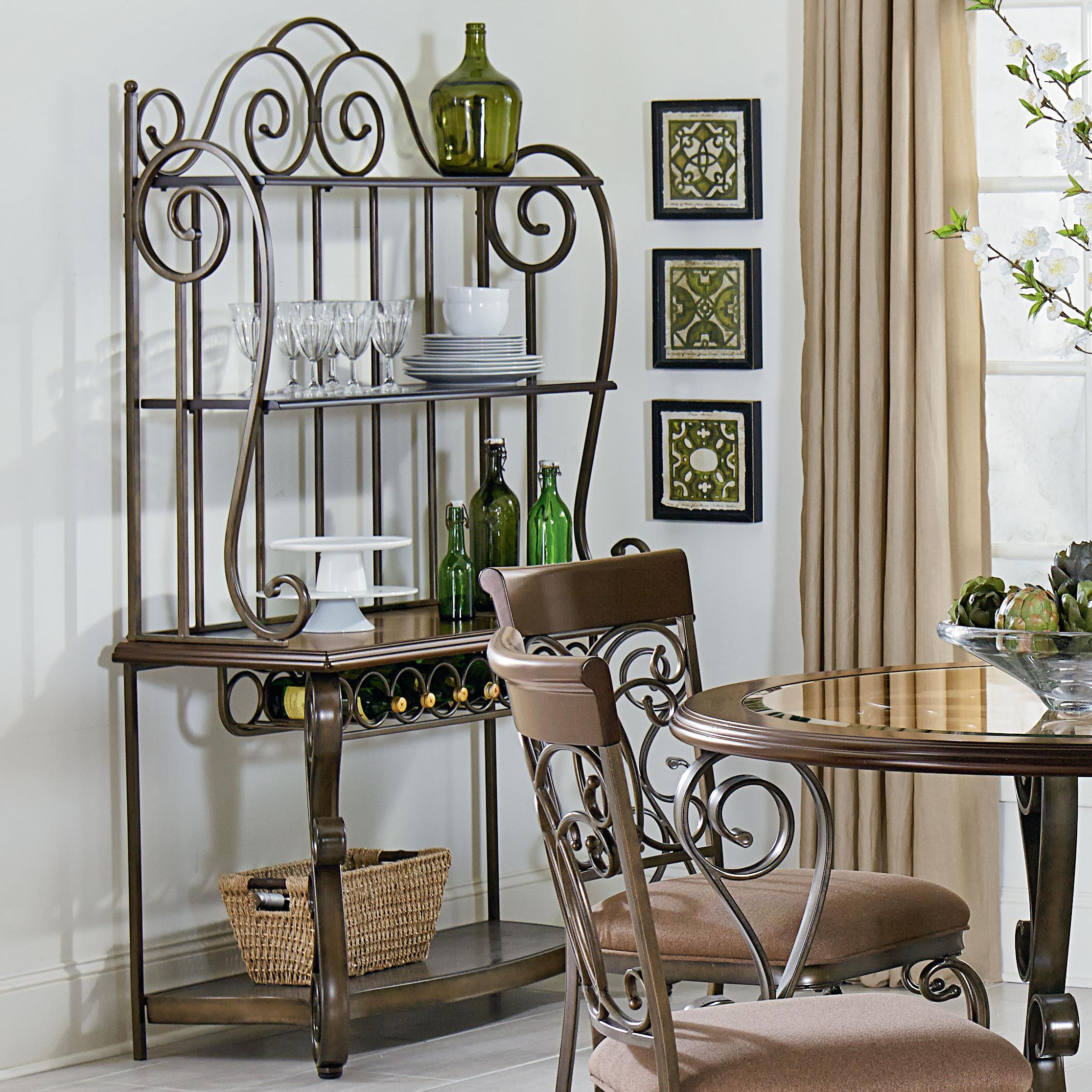 Standard Furniture Bombay 13429 Ornate Baker 39 S Rack