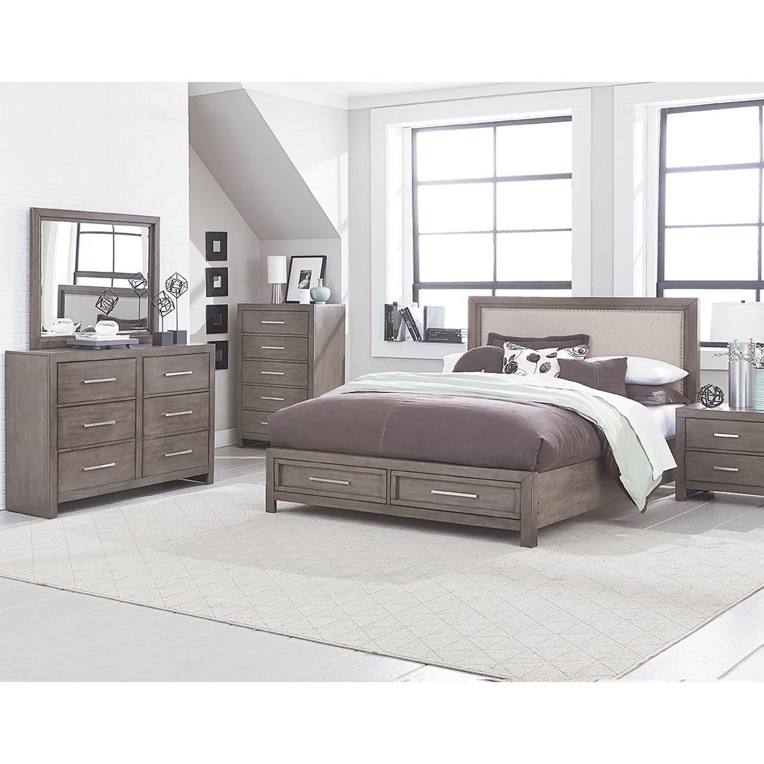 Standard furniture cachet king bedroom group virginia for Bedroom groups