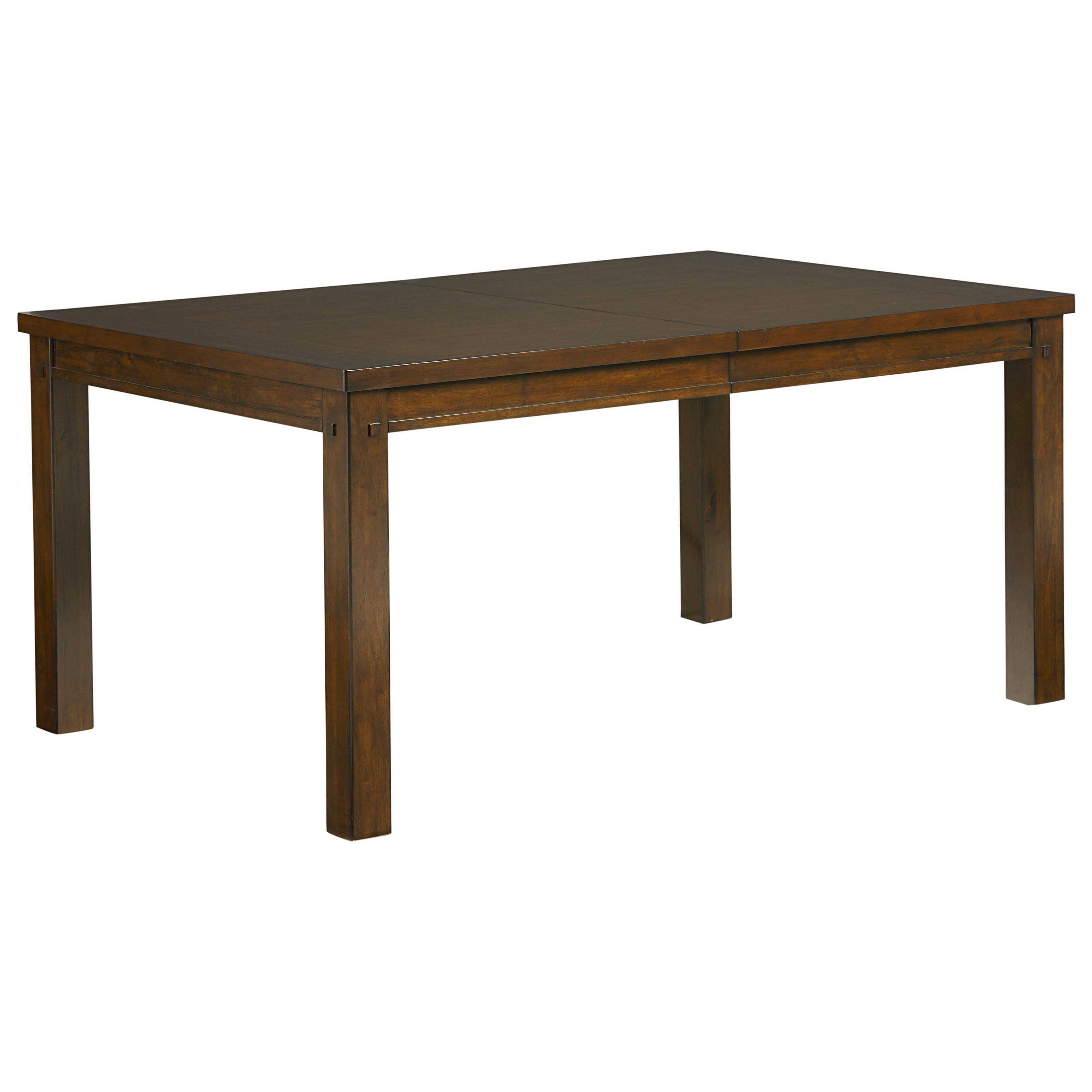 Standard furniture cameron 14301 rustic dining table with for Standard dining table