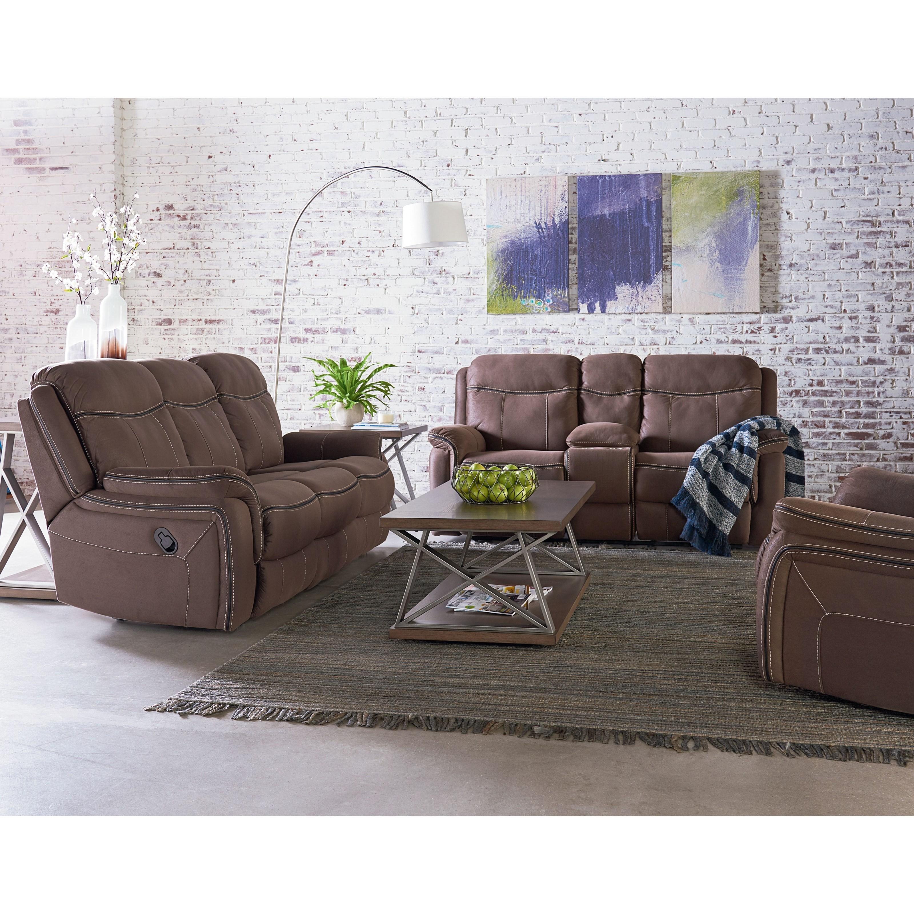 Standard Furniture Champion Reclining Living Room Group Olinde 39 S Furniture Reclining Living