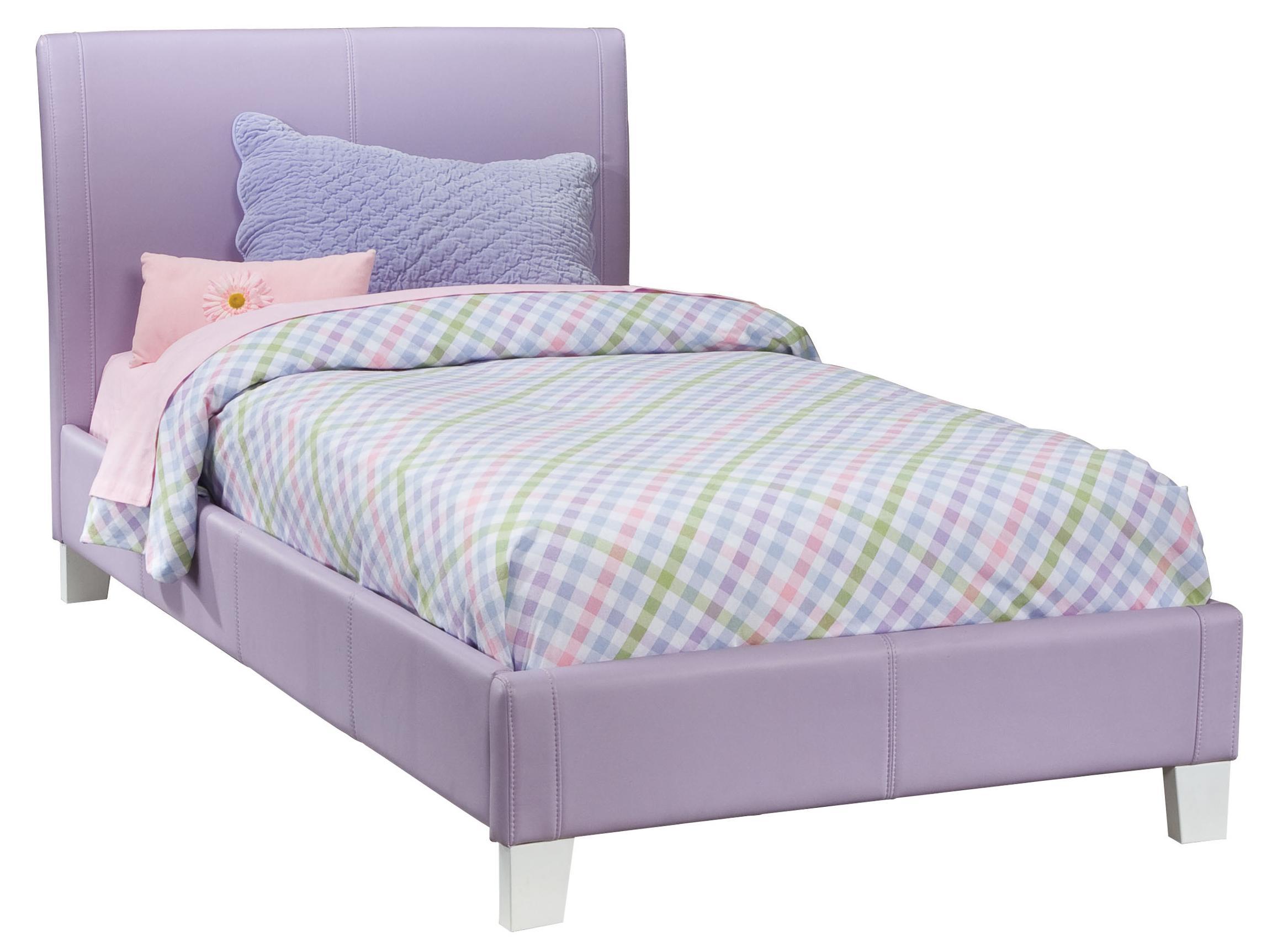 standard furniture fantasia twin upholstered youth bed dunk bright furniture upholstered bed. Black Bedroom Furniture Sets. Home Design Ideas