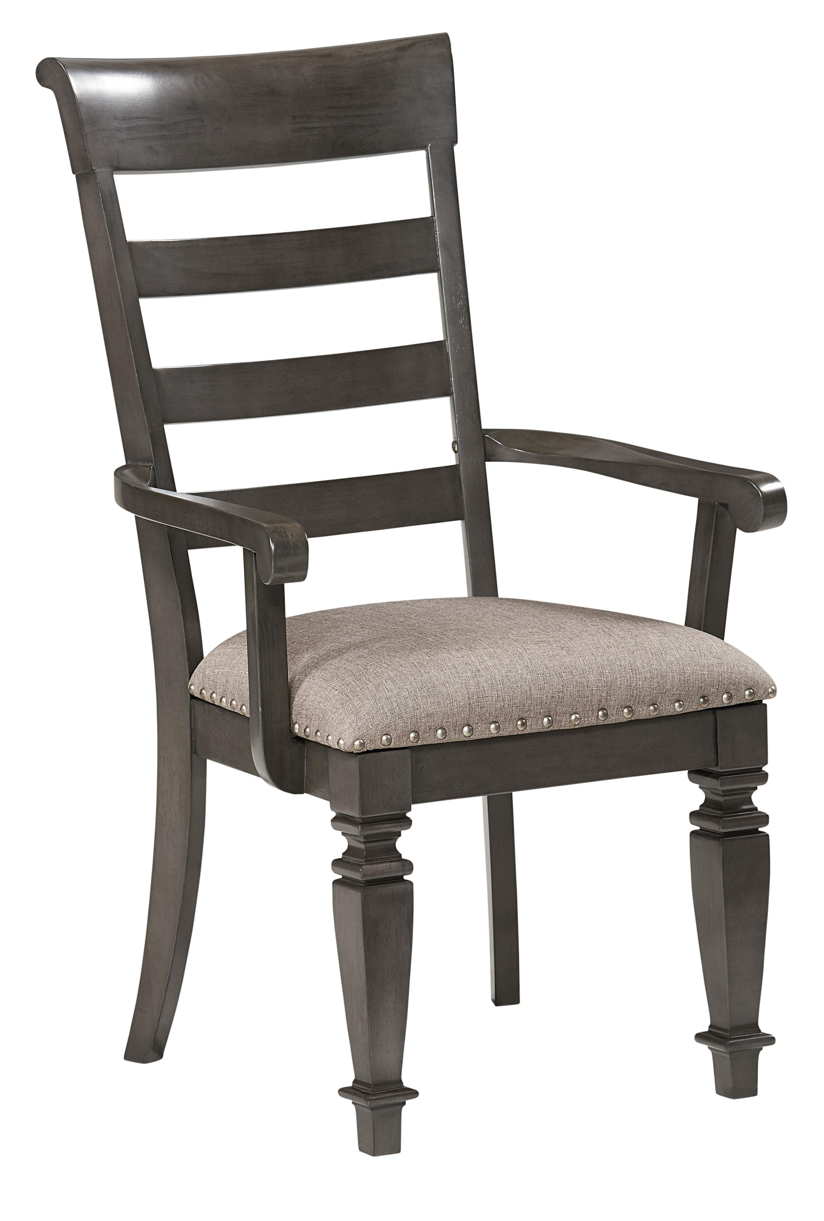 Standard Furniture Garrison Traditional Upholstered Arm