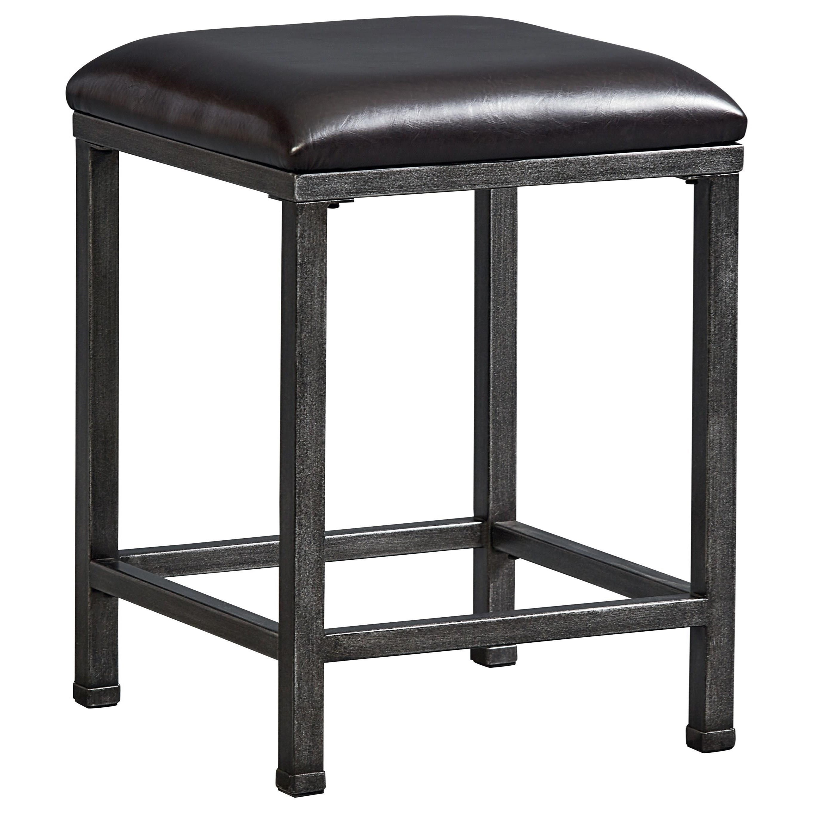 Standard Furniture Montvale Metal Stool With Upholstered