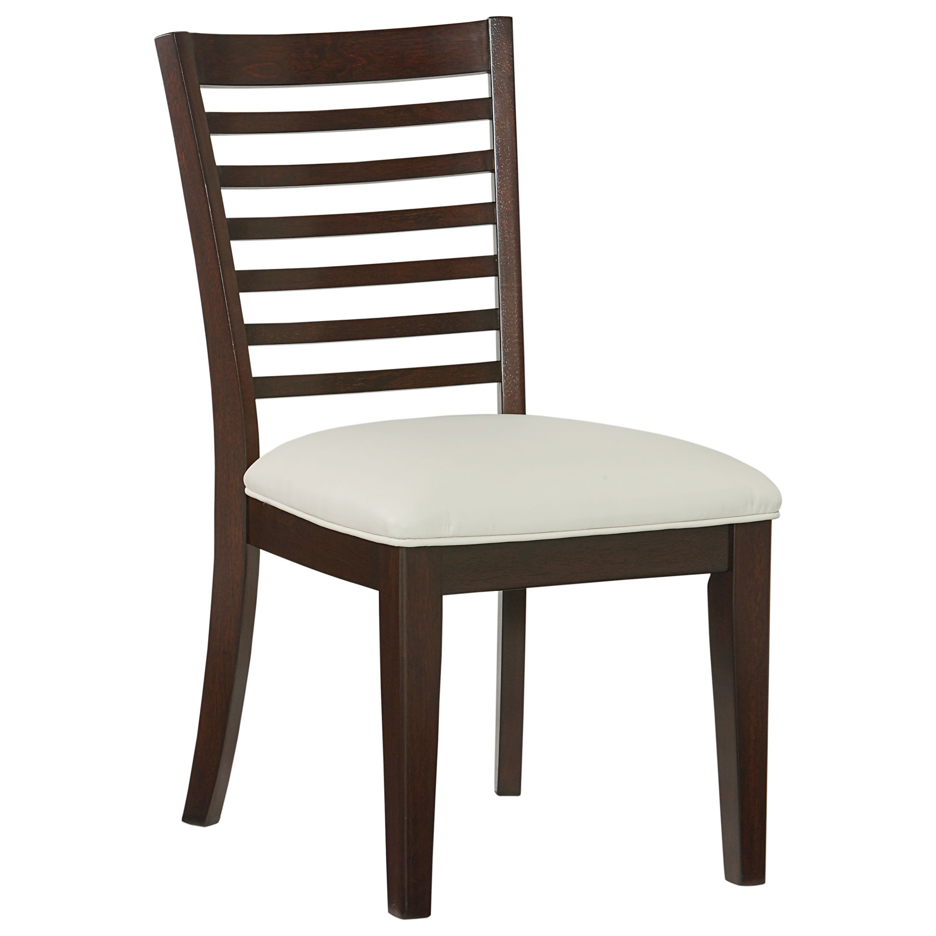 Standard furniture noveau casual dining room group dunk for Informal dining chairs