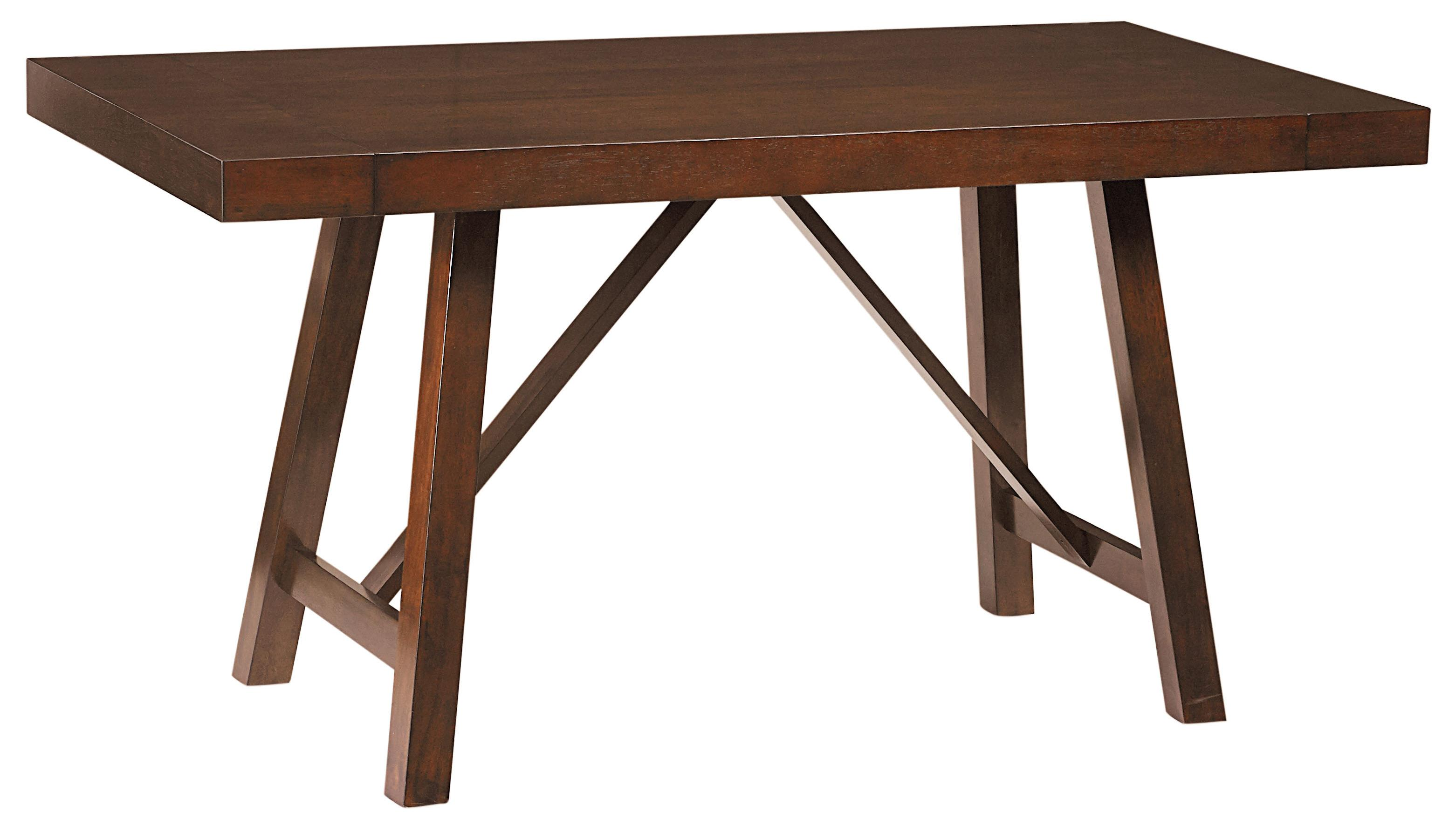 Standard furniture omaha brown 16196 counter height for Table with that left
