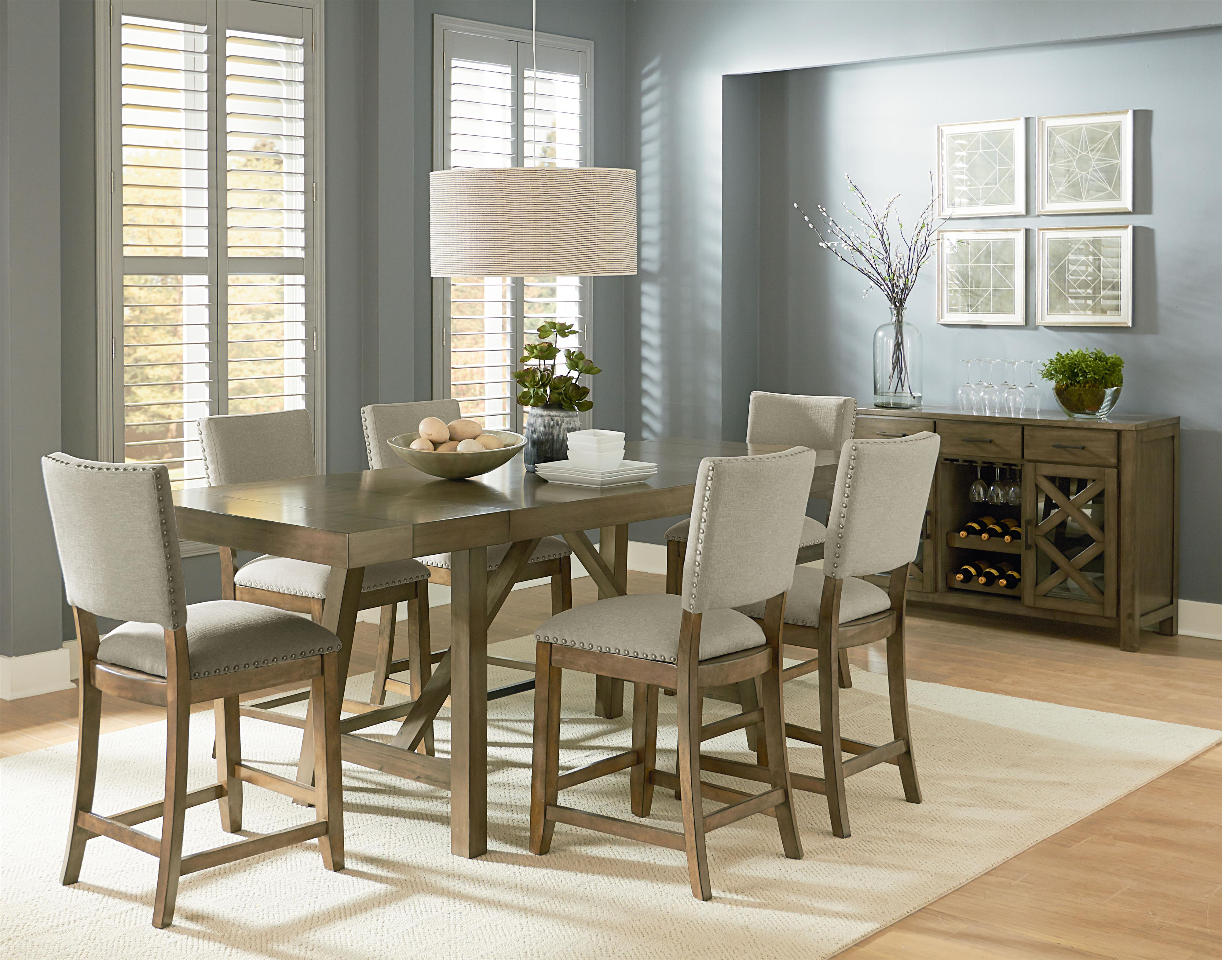 Standard Furniture Omaha Grey Casual Dining Room Group Van Hill Furniture Casual Dining Room
