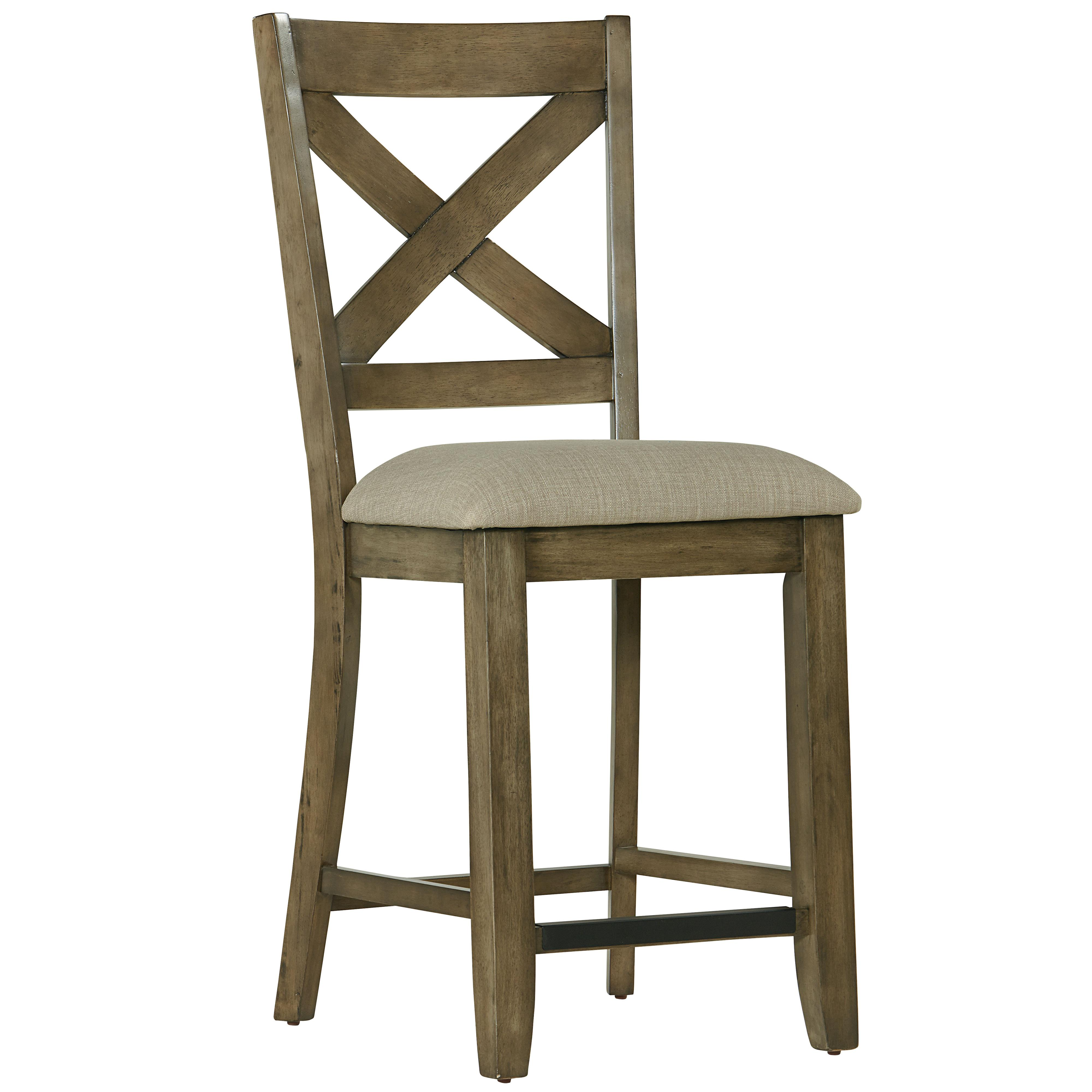standard furniture omaha grey counter height bar stool. Black Bedroom Furniture Sets. Home Design Ideas