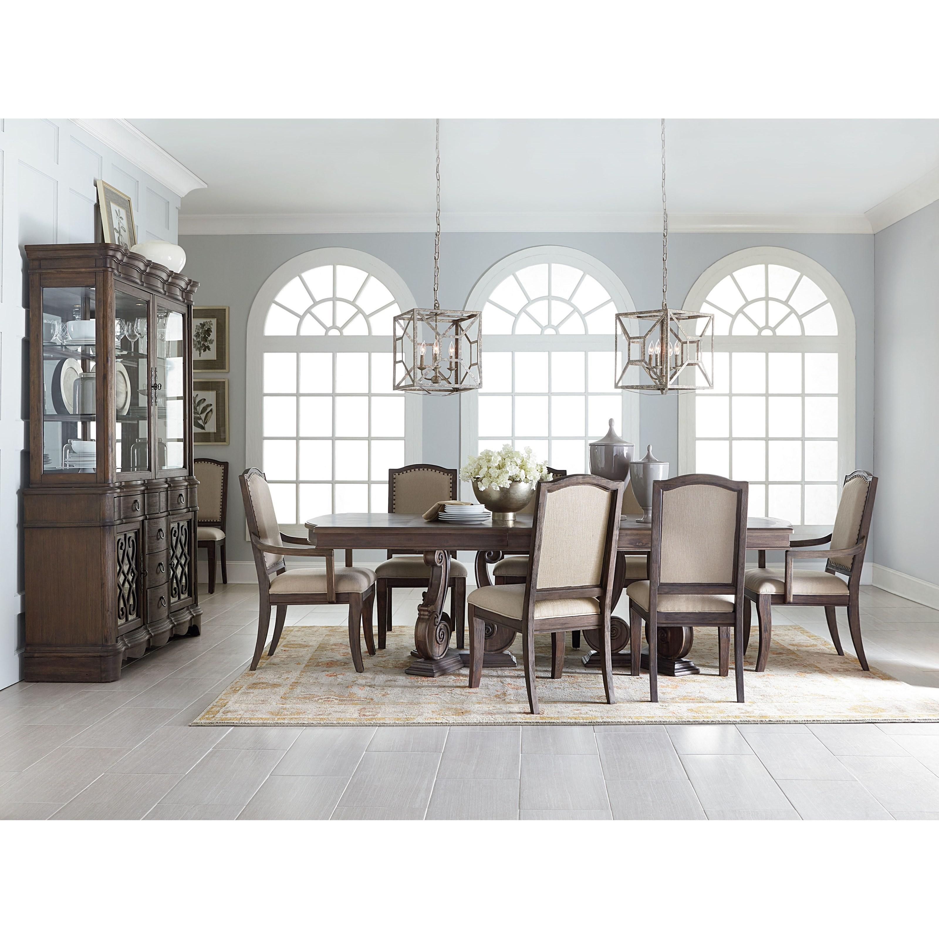 standard furniture parliament formal dining room group olinde 39 s furniture formal dining room. Black Bedroom Furniture Sets. Home Design Ideas