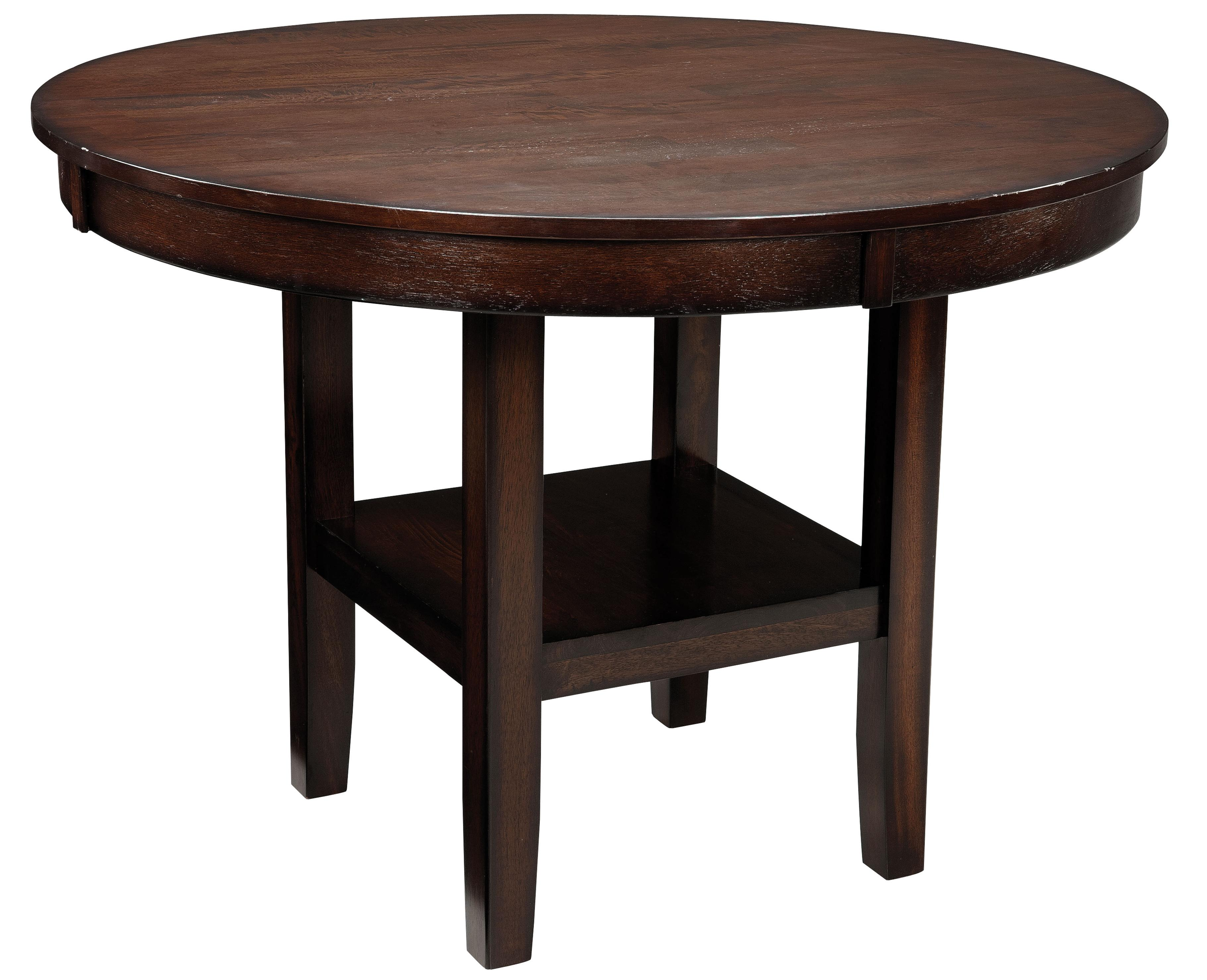 Standard furniture pendwood 5 piece round table dining for Standard dining table