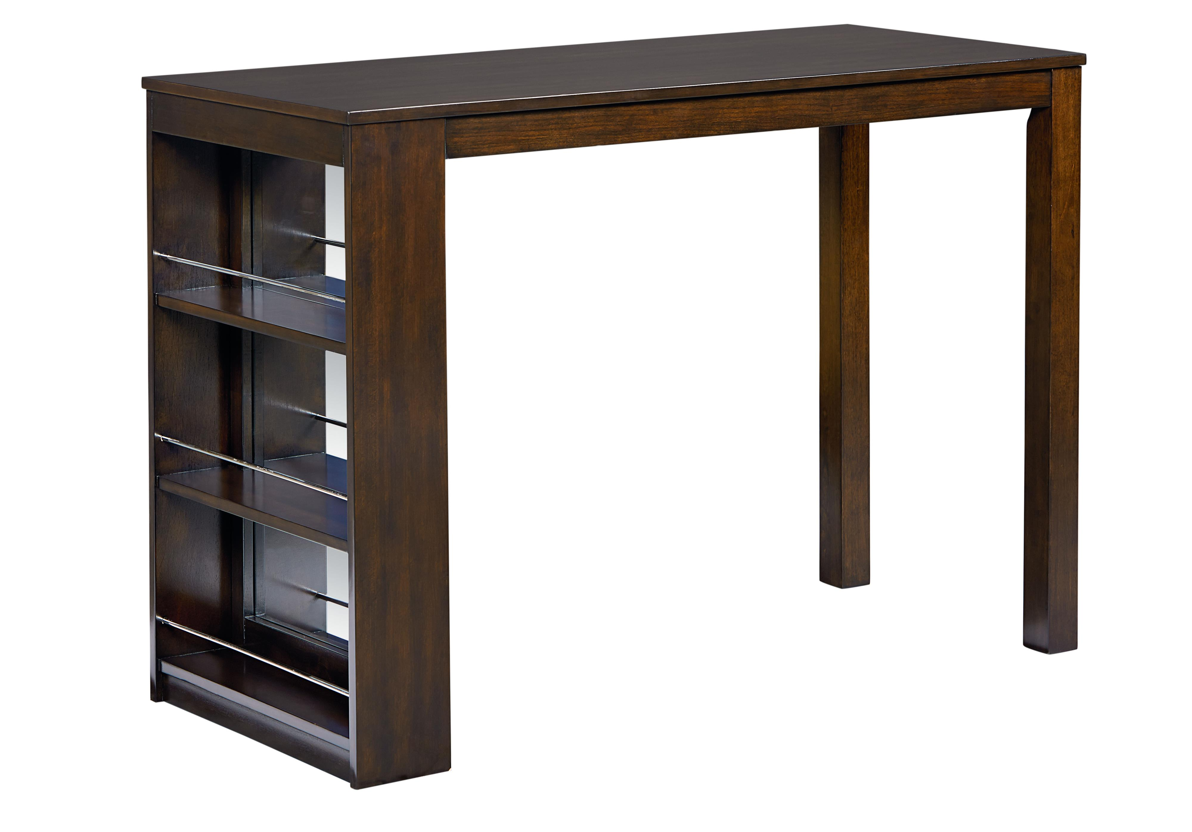 Standard furniture porter modern counter height table with for Table 6 kitchen and bar canton ohio