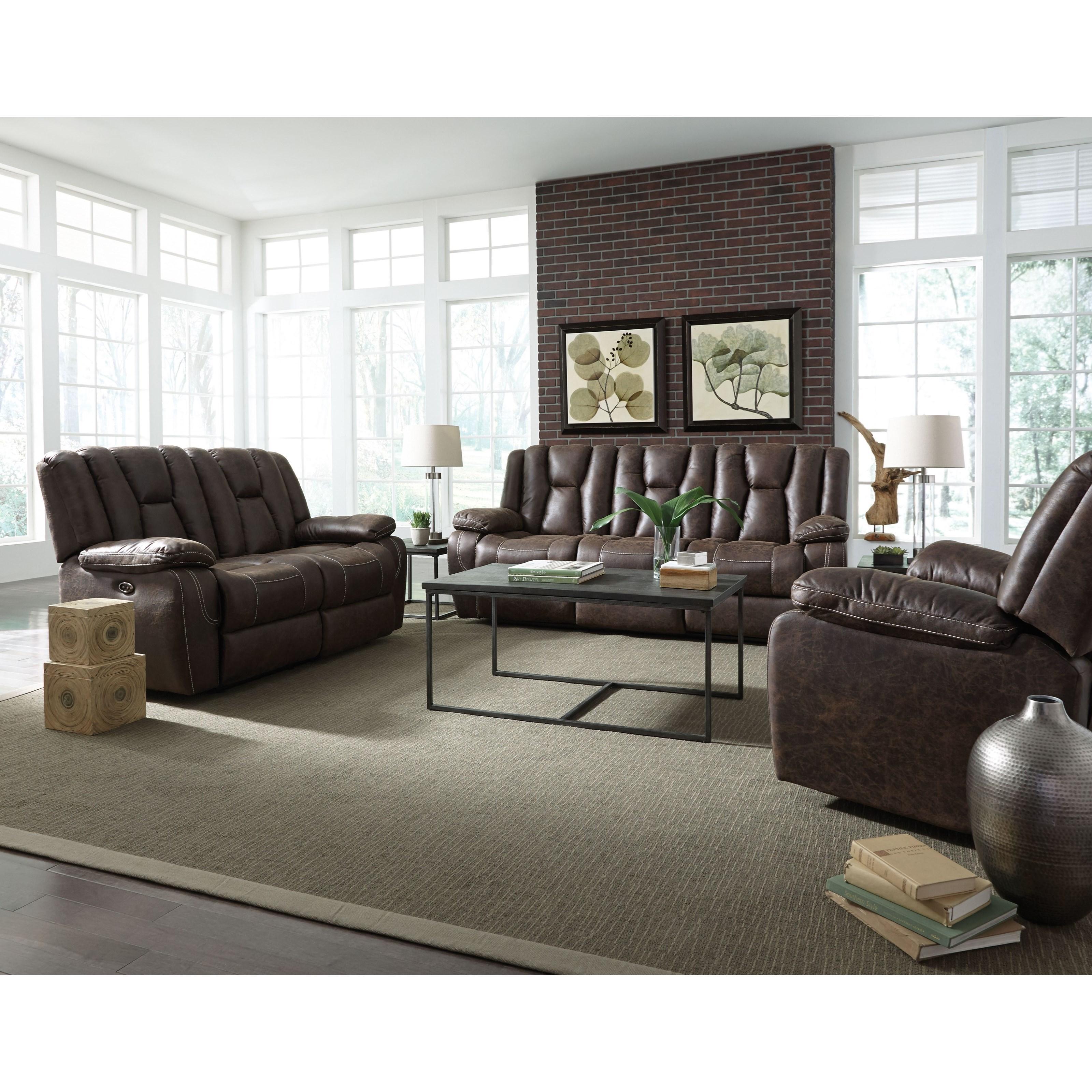 Standard Furniture Rainier Power Reclining Living Room