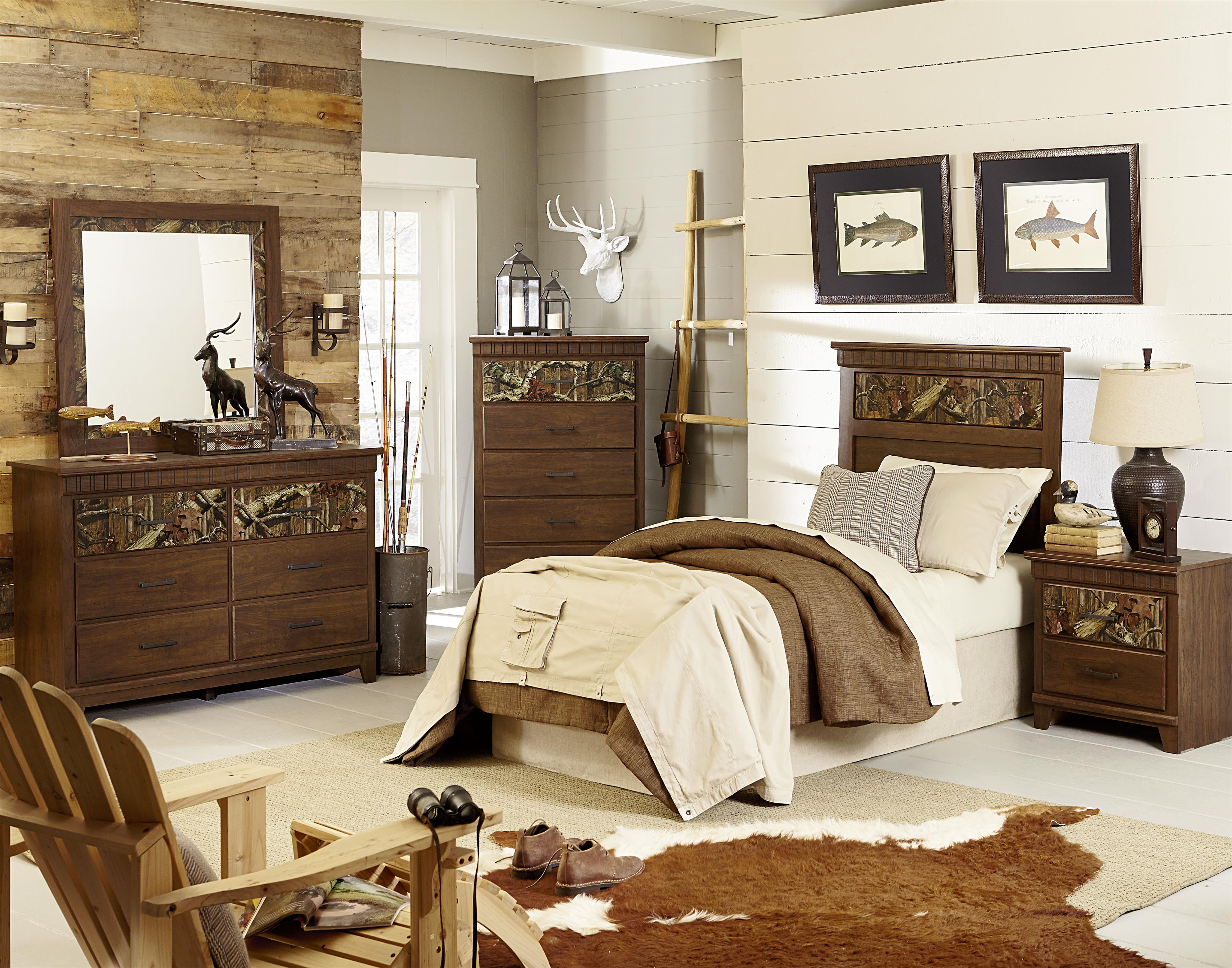 Standard Furniture Solitude Twin Bedroom Group Dunk Bright Furniture Bedroom Group