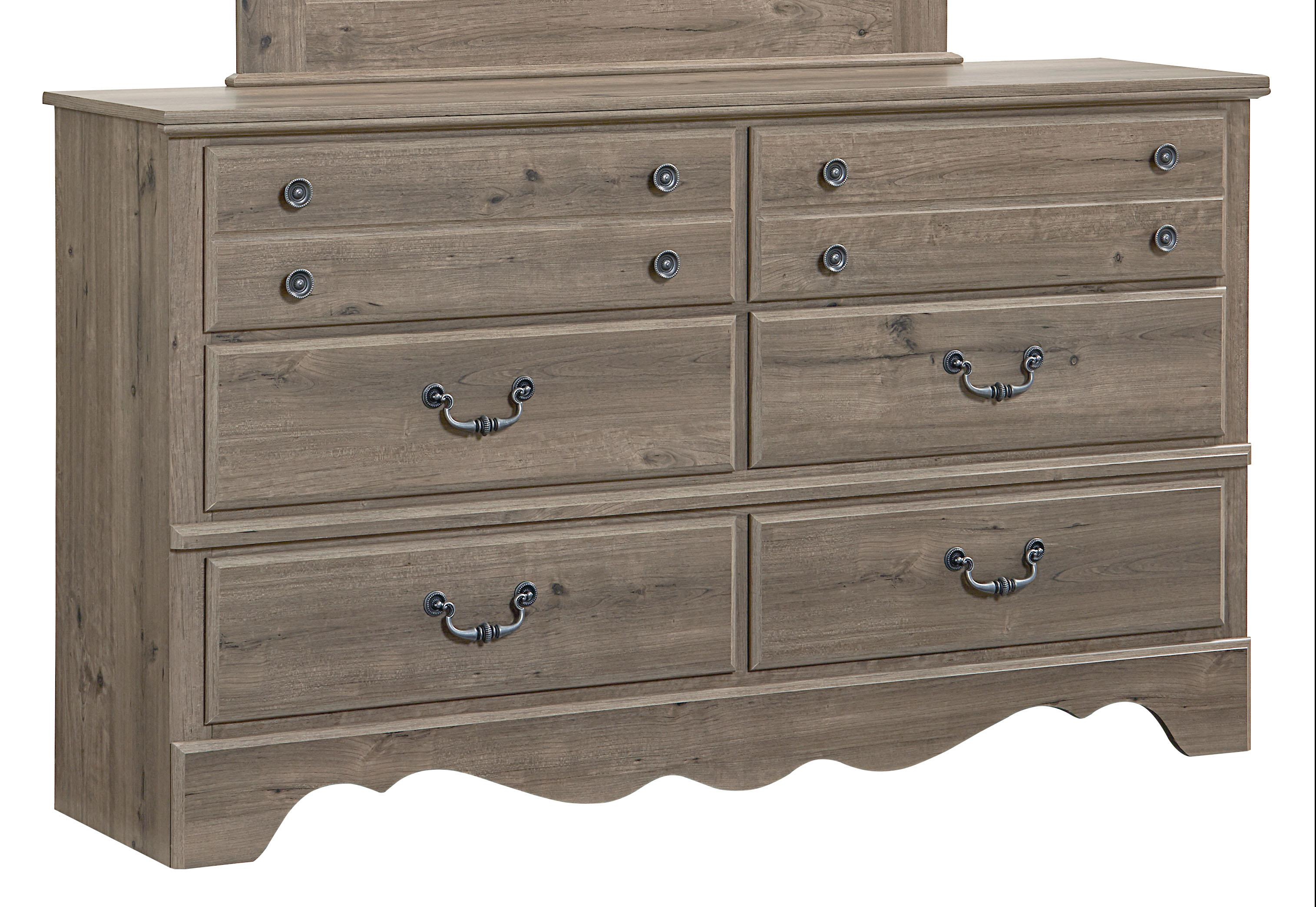 Standard Furniture Timber Creek Traditional Dresser With Six Drawers Knight Furniture