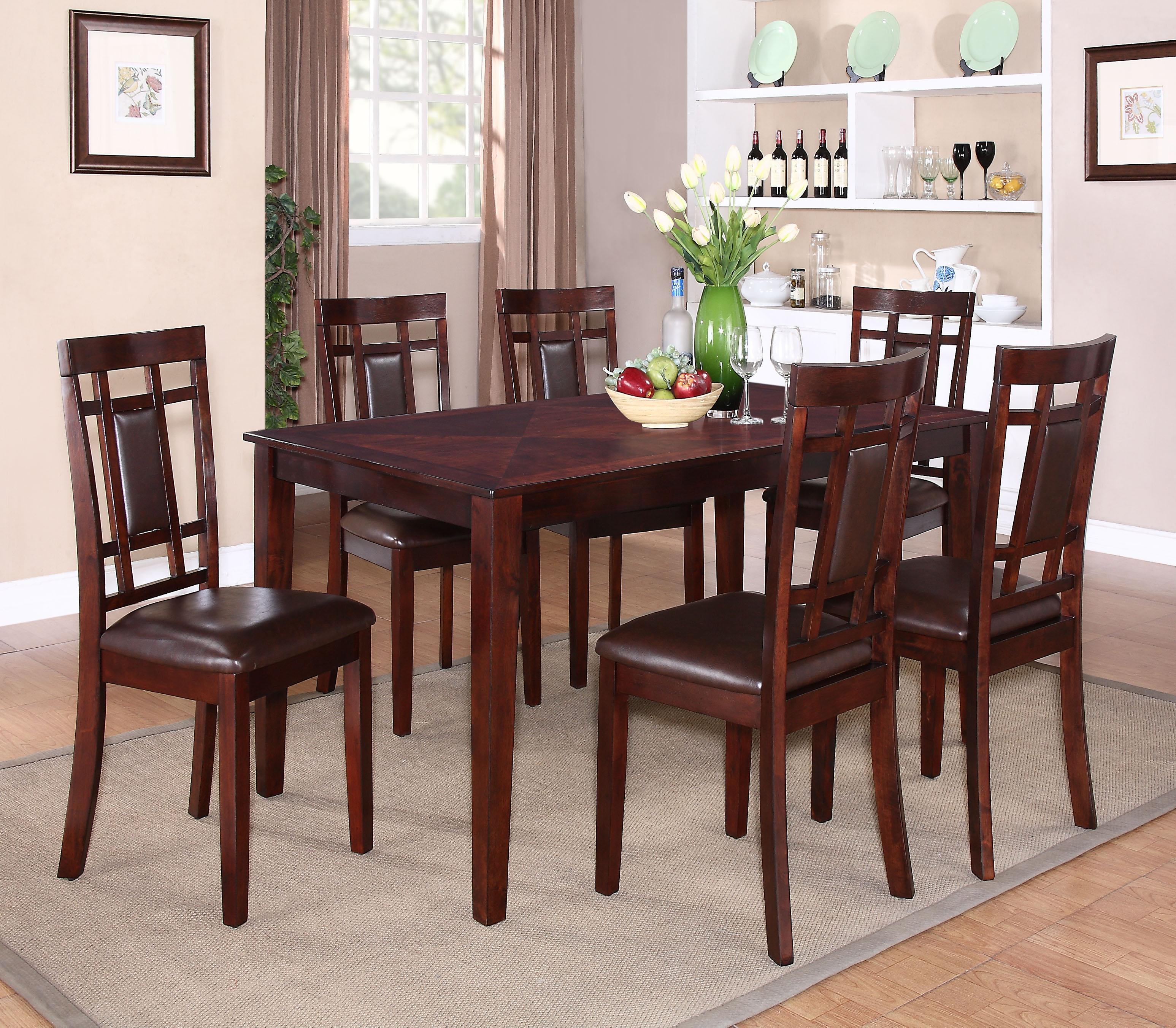Standard furniture westlake 17282 7 piece table chair set great american home store dining Grand home furniture outlet westlake