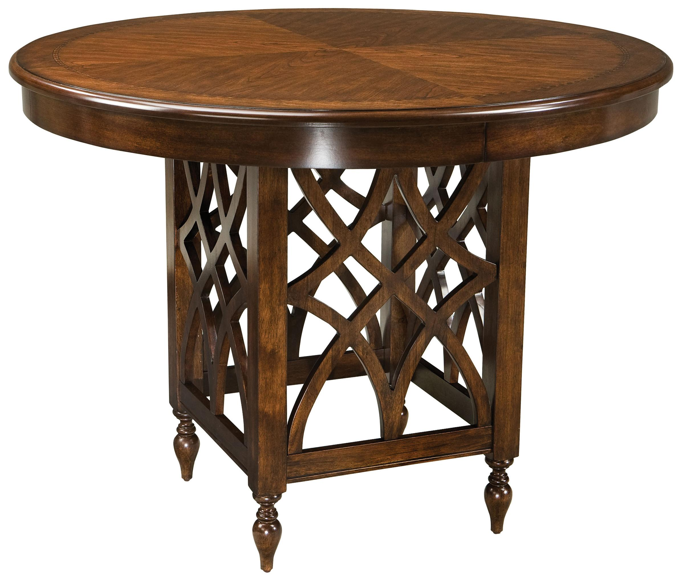 standard furniture woodmont round counter height table. Black Bedroom Furniture Sets. Home Design Ideas