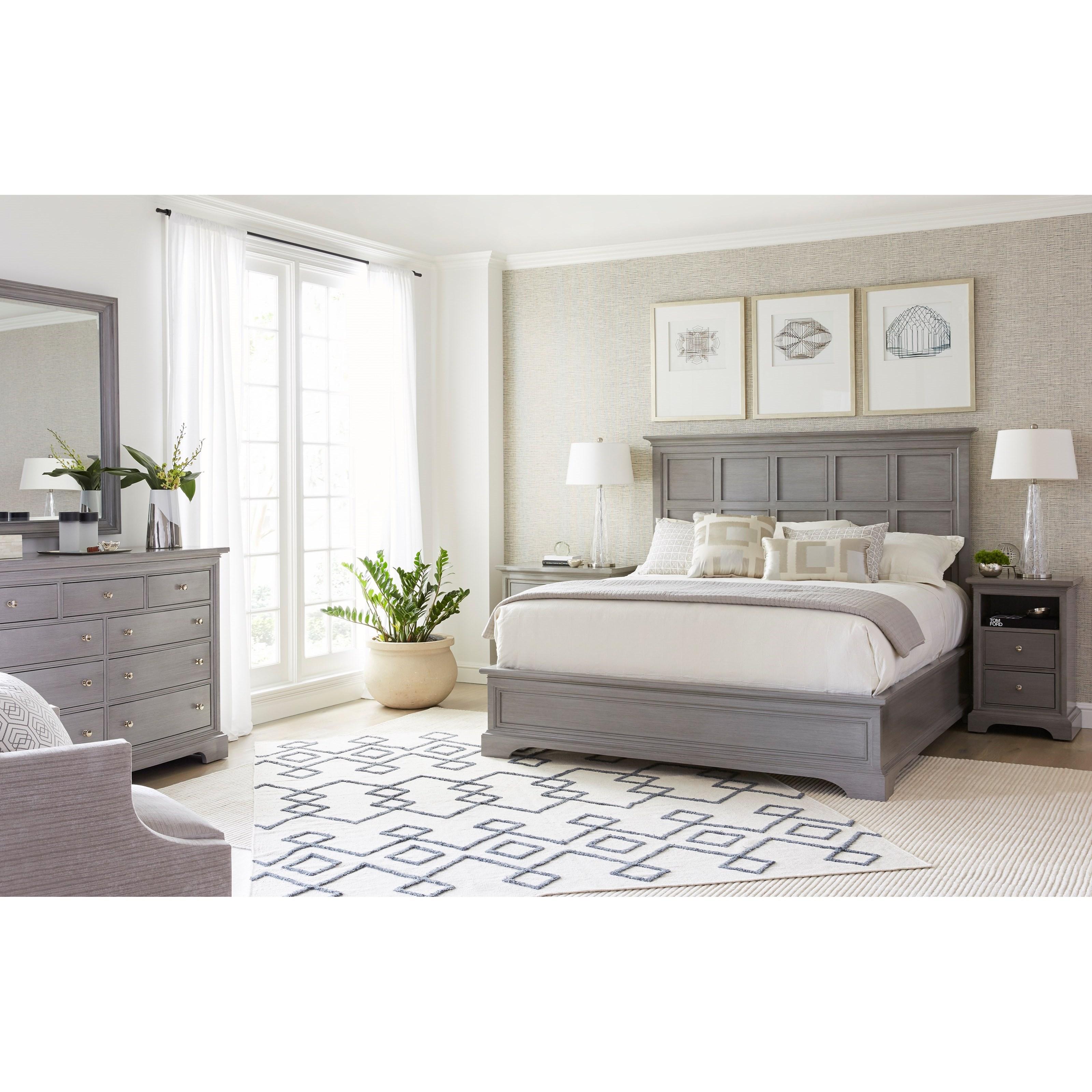 Stanley furniture transitional queen bedroom group belfort furniture bedroom groups for Stanley furniture bedroom set