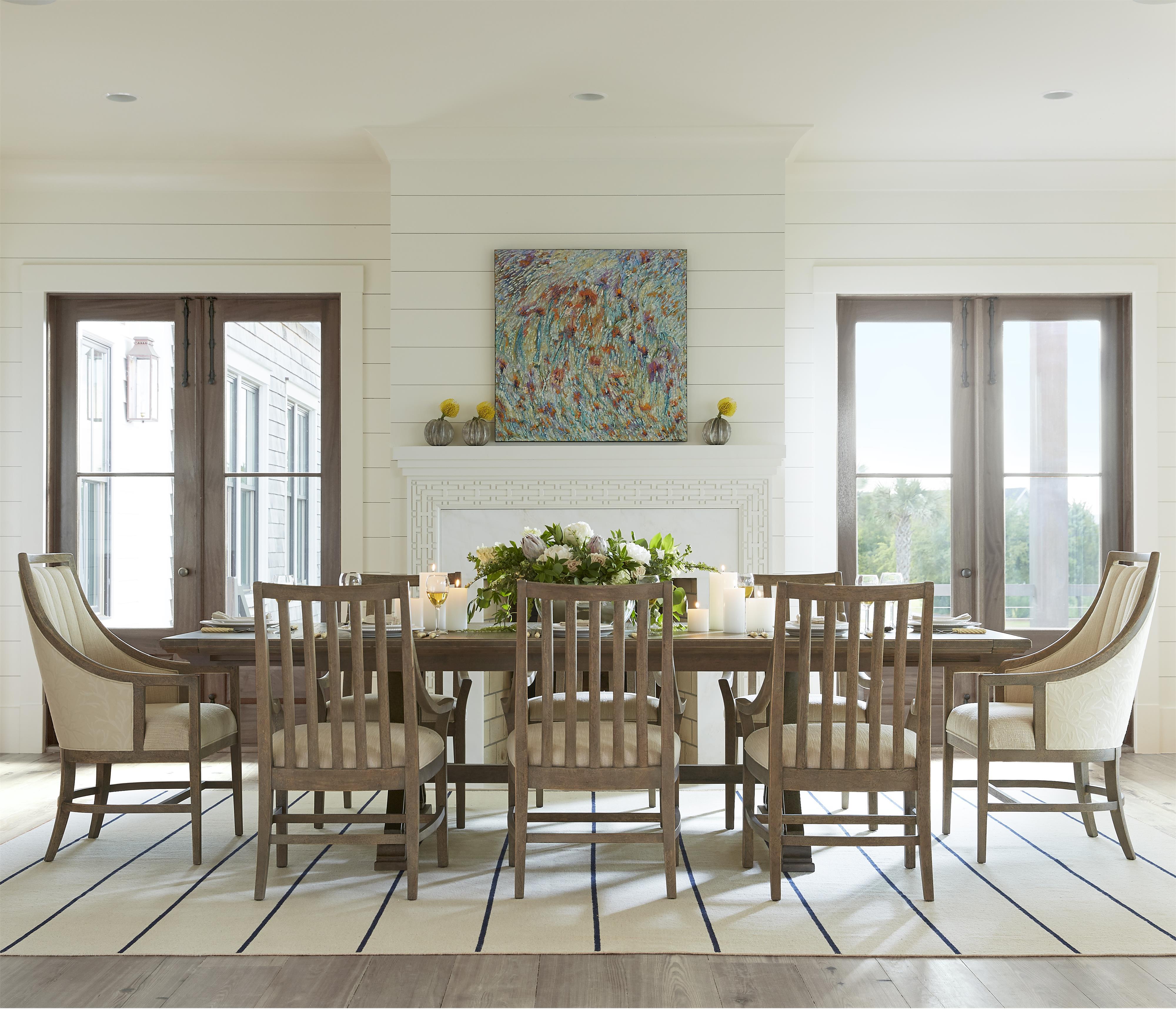 stanley furniture coastal living resort 9 piece shelter. Black Bedroom Furniture Sets. Home Design Ideas