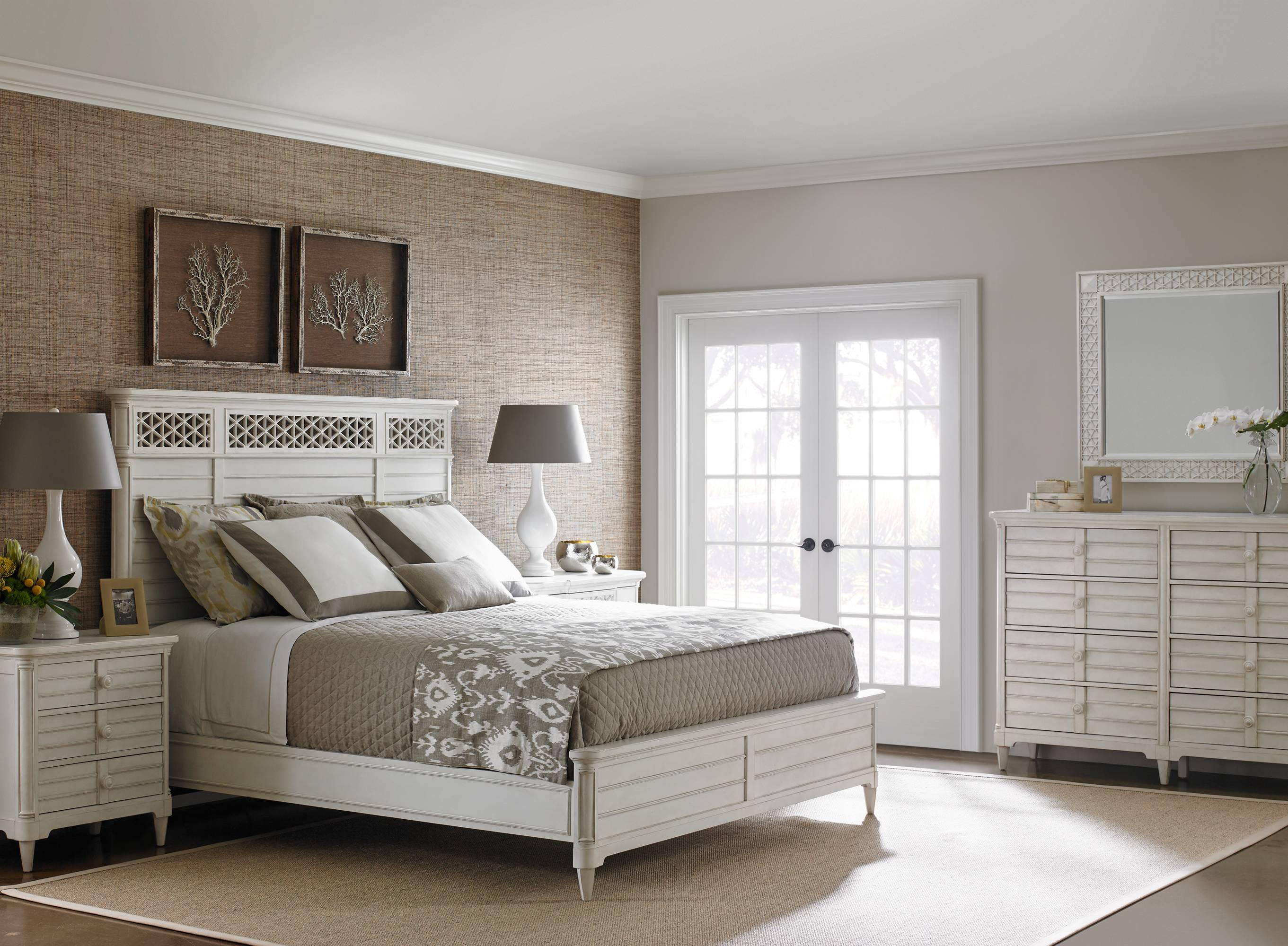 Stanley furniture cypress grove cottage style dresser with for Magnolia homes cypress grove