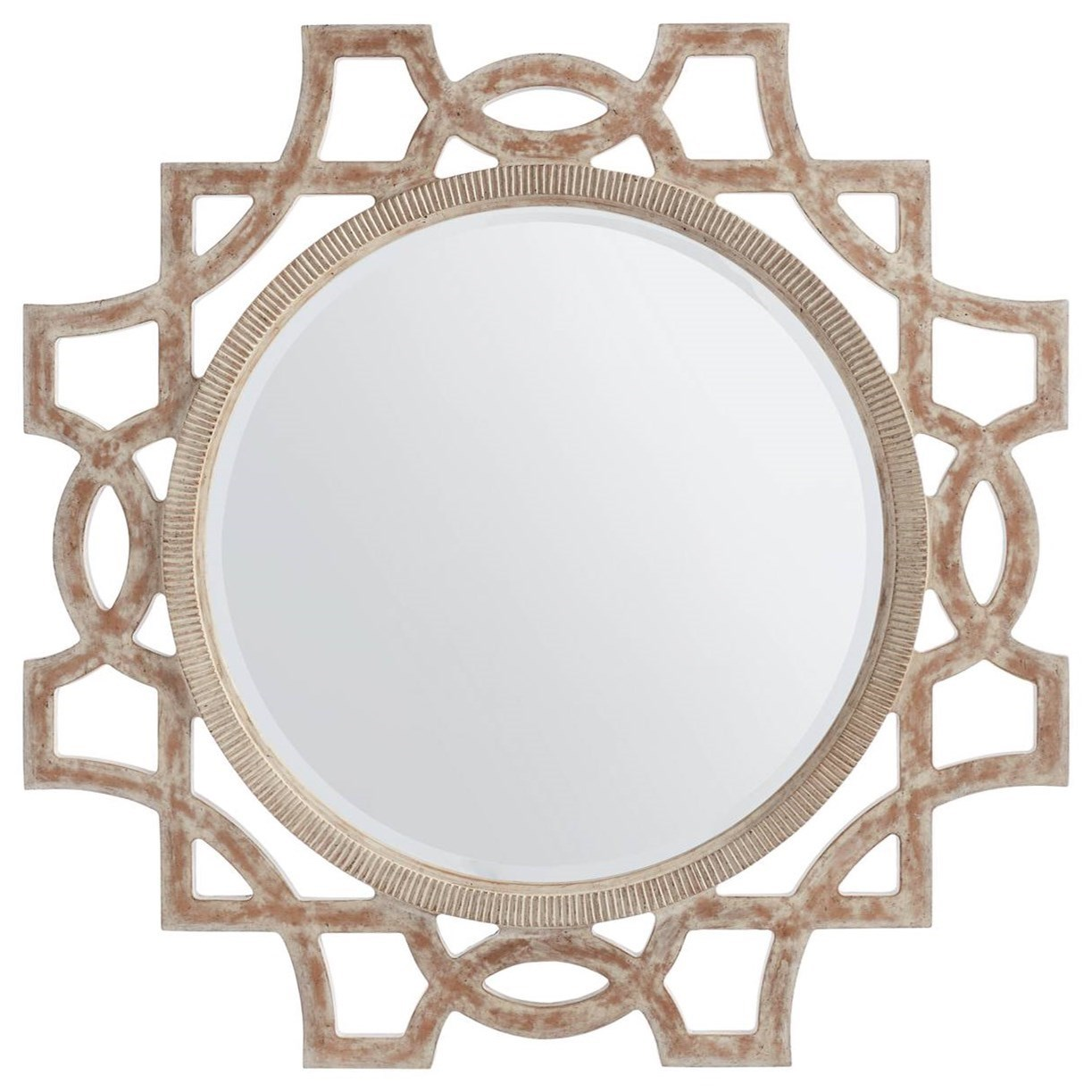 Stanley furniture juniper dell 615 63 30 round accent for Accent mirrors