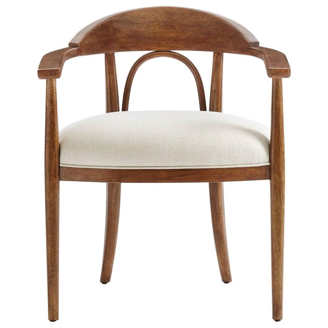 Stanley Furniture Panavista 704 11 74 Studio Arm Chair