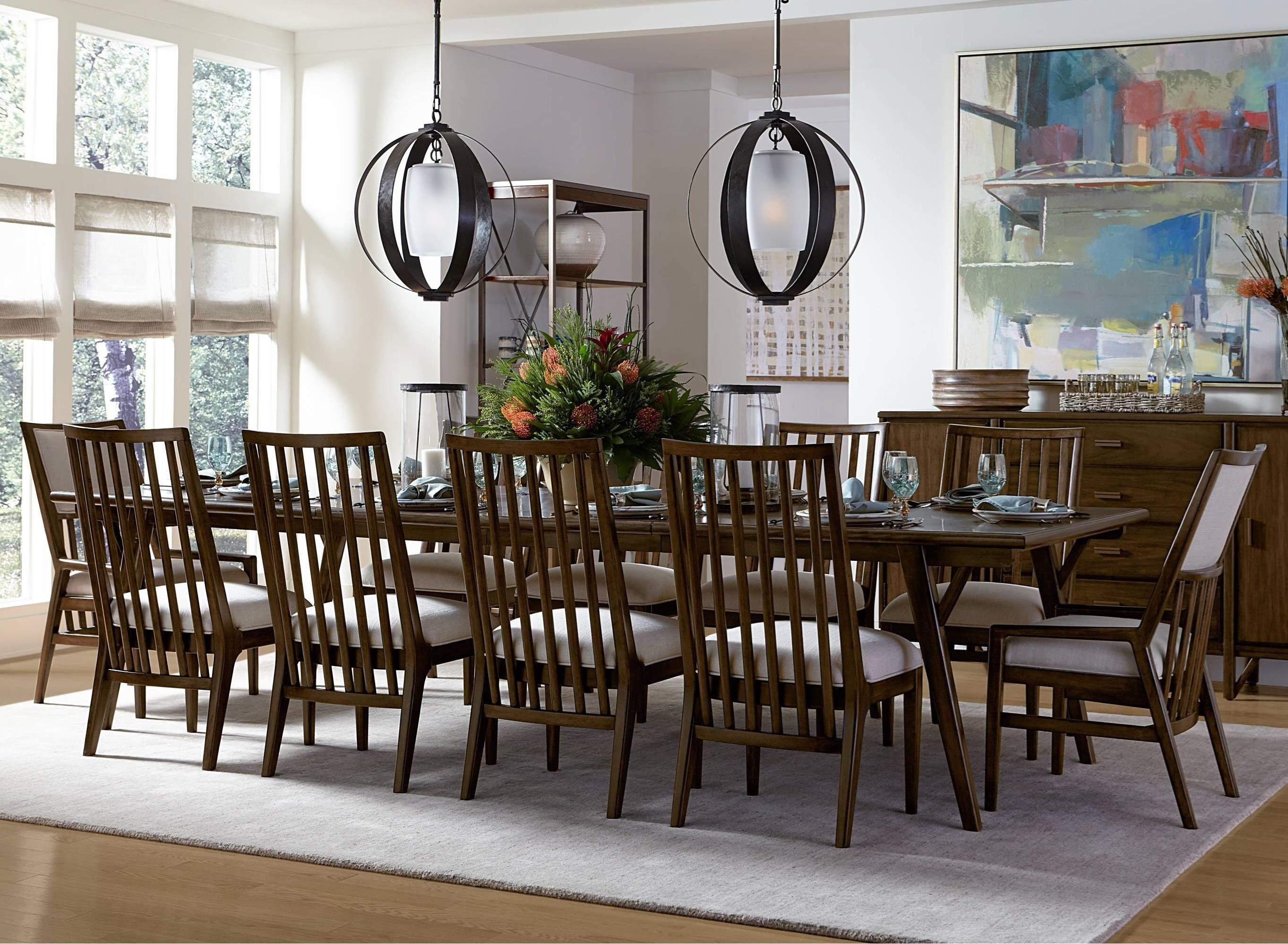 Stanley furniture santa clara 11 piece rectangular dining for 11 piece dining table