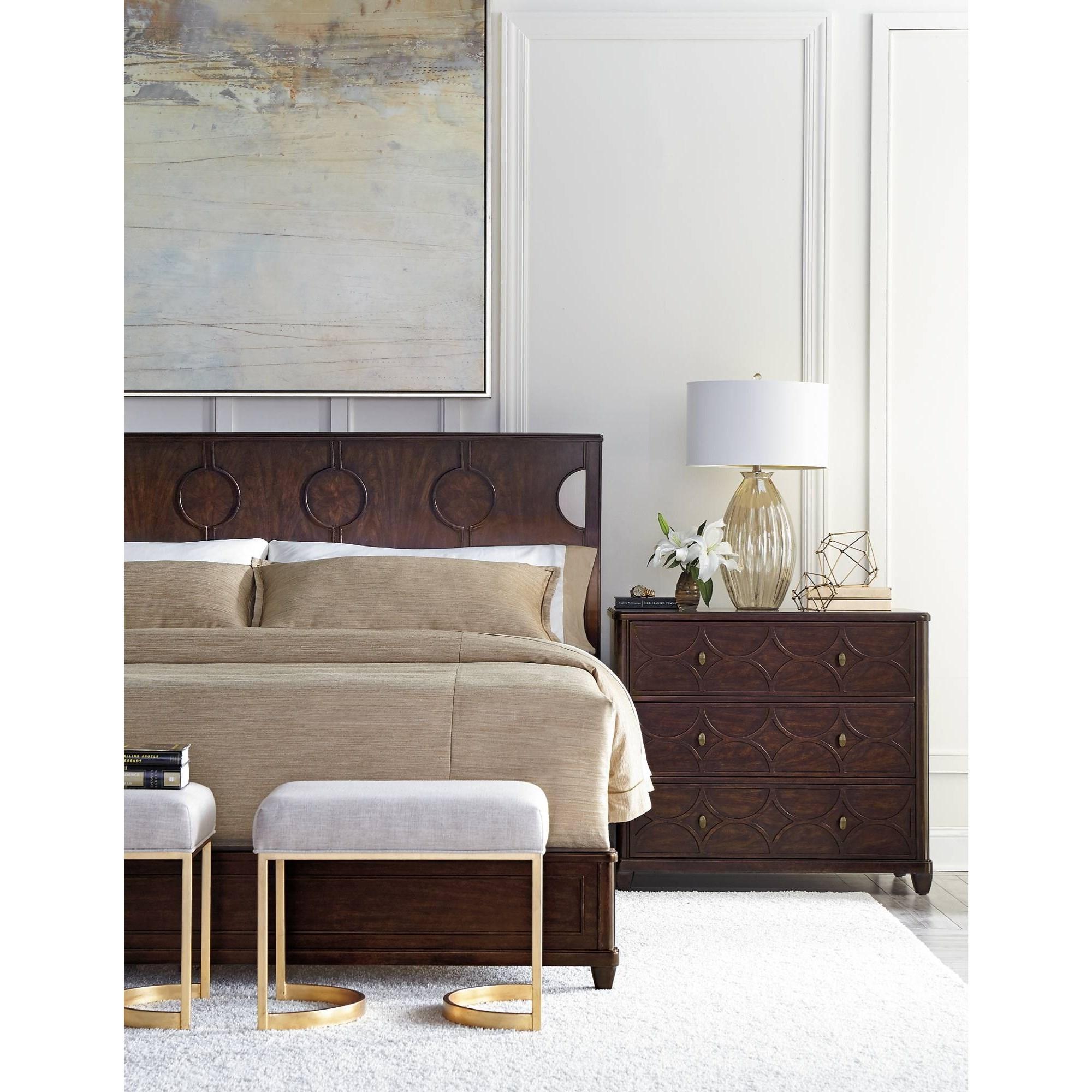 stanley furniture virage king bedroom group belfort