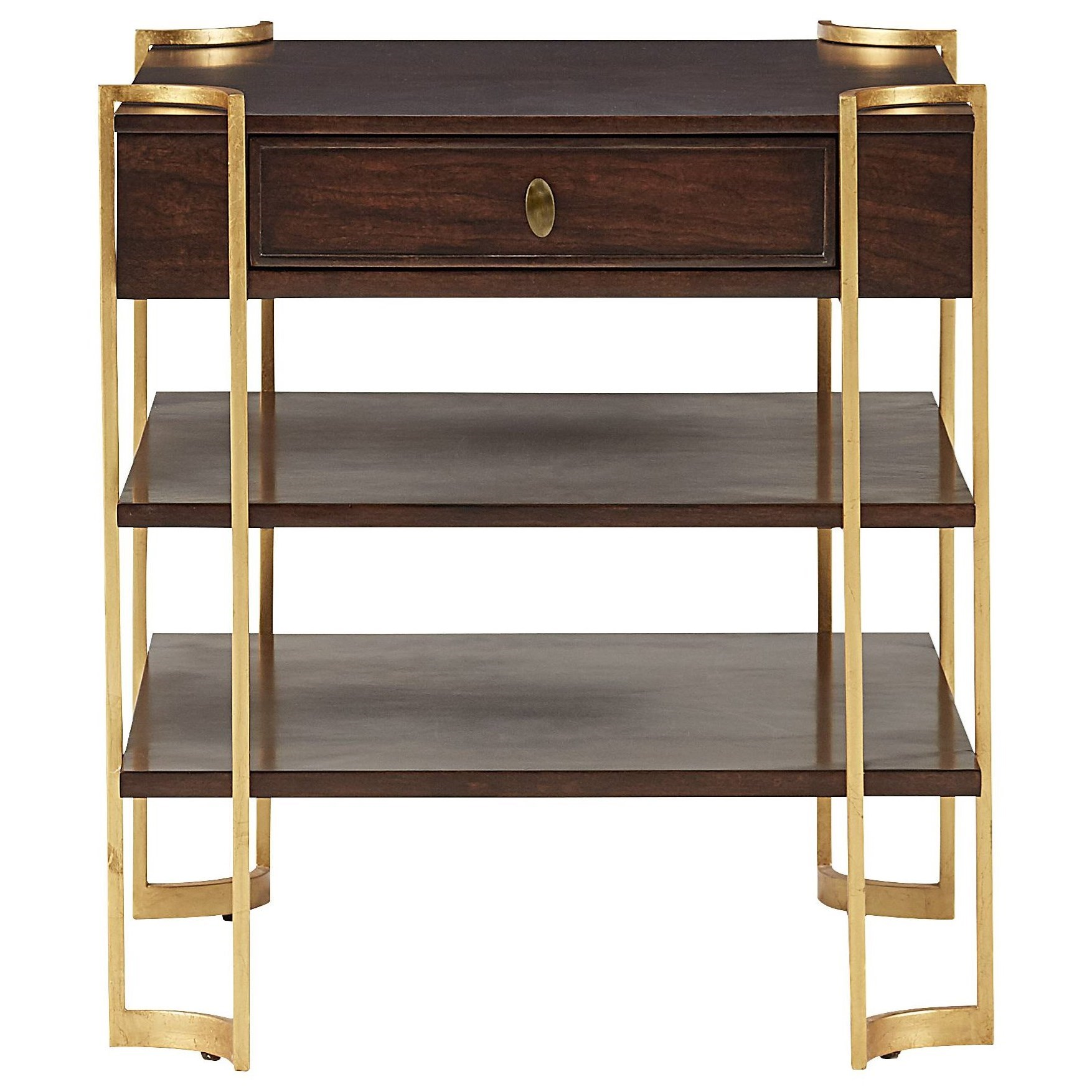 Stanley furniture virage drawer end table belfort for Stanley furniture