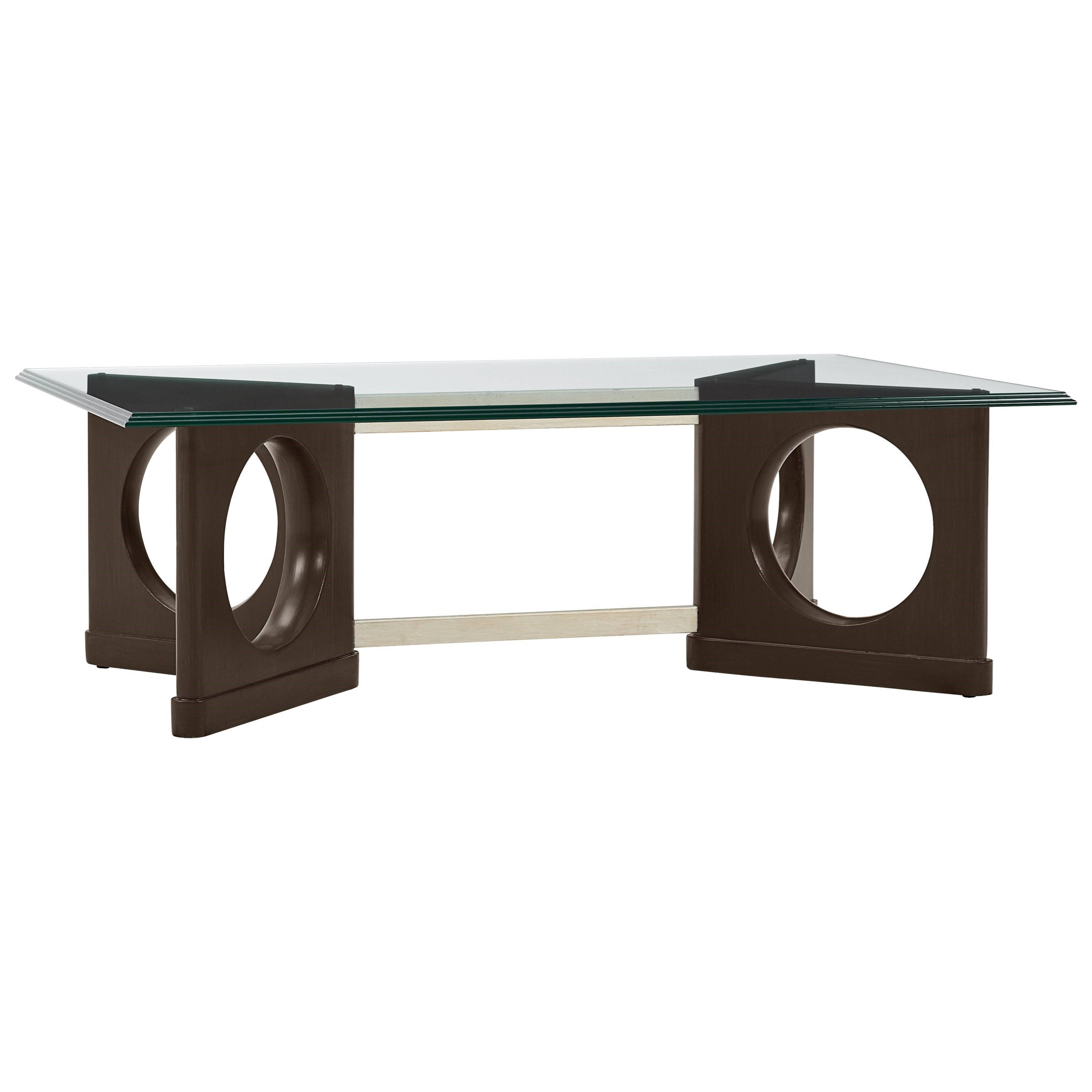 Stanley furniture virage 696 85 01 cocktail table with for Transmutation table 85 items