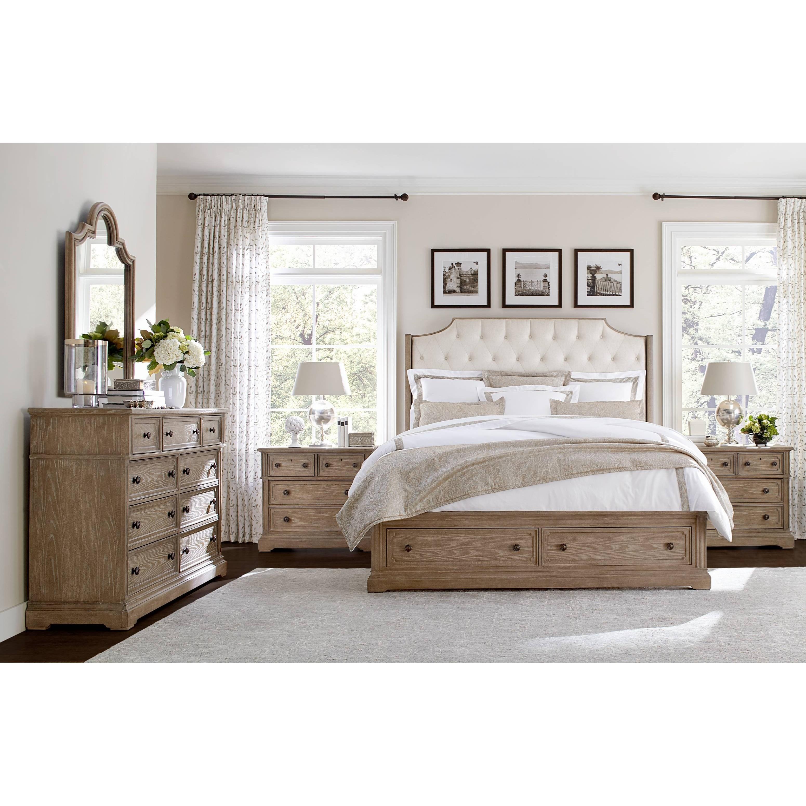 Stanley furniture wethersfield estate queen bedroom group belfort furniture bedroom groups for Stanley furniture bedroom set