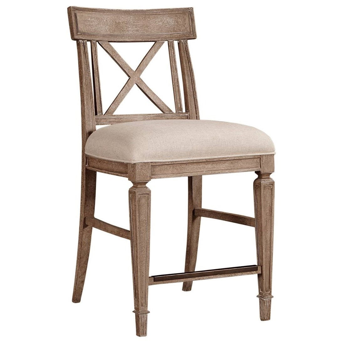 Stanley Furniture Wethersfield Estate Counter Stool With X