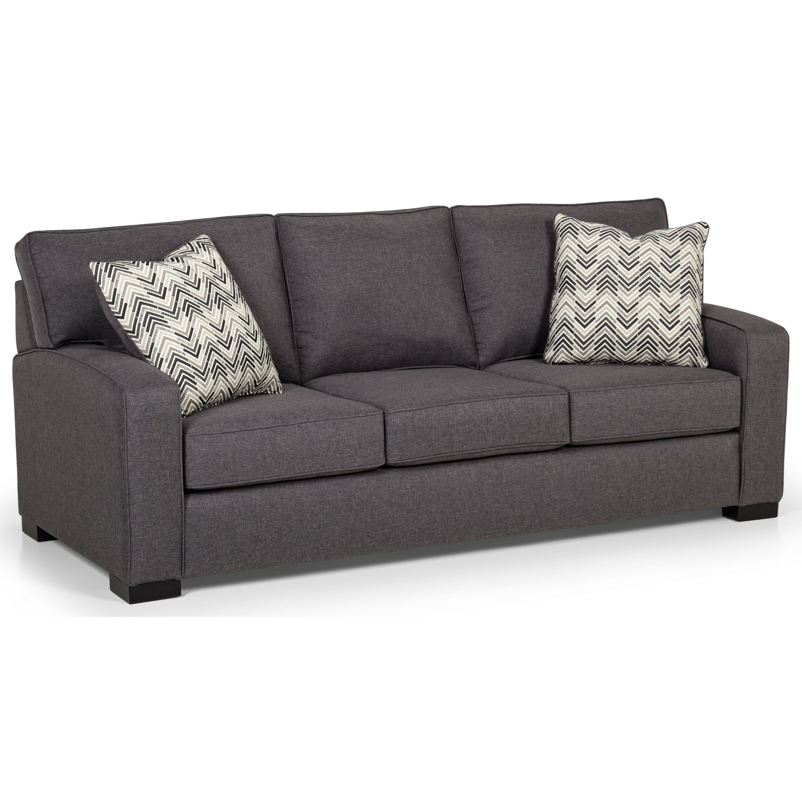 Stanton 375 Contemporary Sofa With Arching Track Arms Rife 39 S Home Furniture Sofas