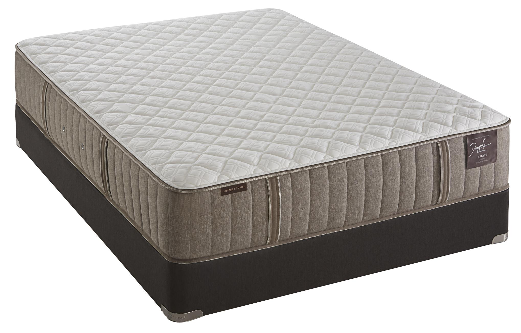 Stearns foster scarborough queen ultra firm mattress and for High mattress box spring
