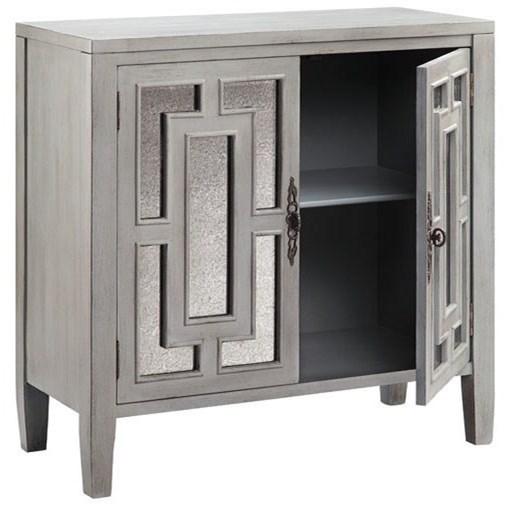 Stein world cabinets cade cabinet knight furniture for Argento cade cabine