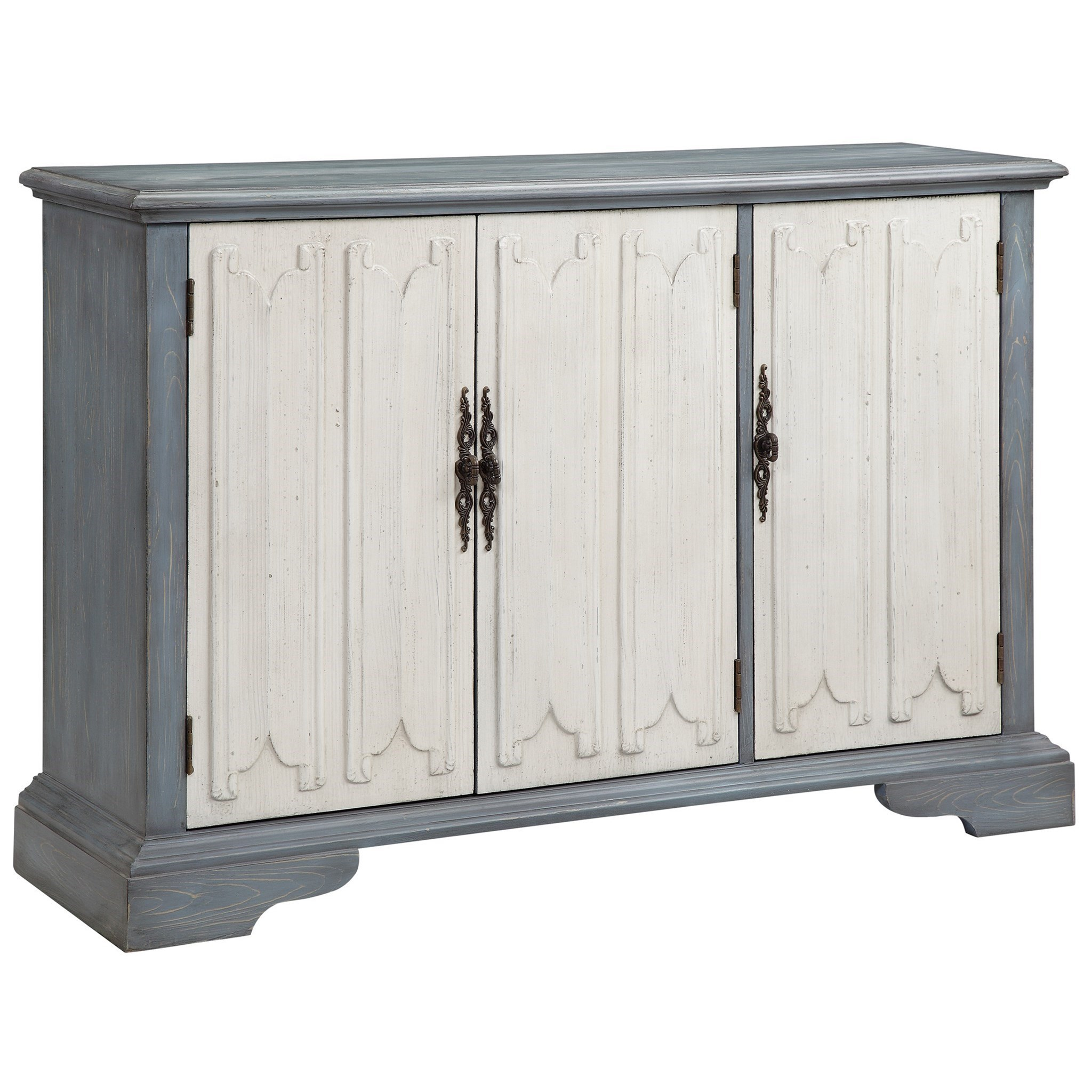 Cabinets 3 door cabinet morris home accent chests for Morris home