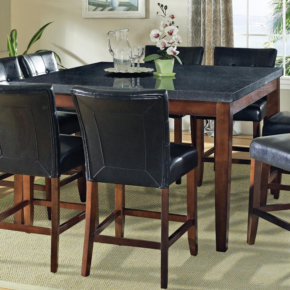 steve silver granite bello granite top counter height leg. Black Bedroom Furniture Sets. Home Design Ideas