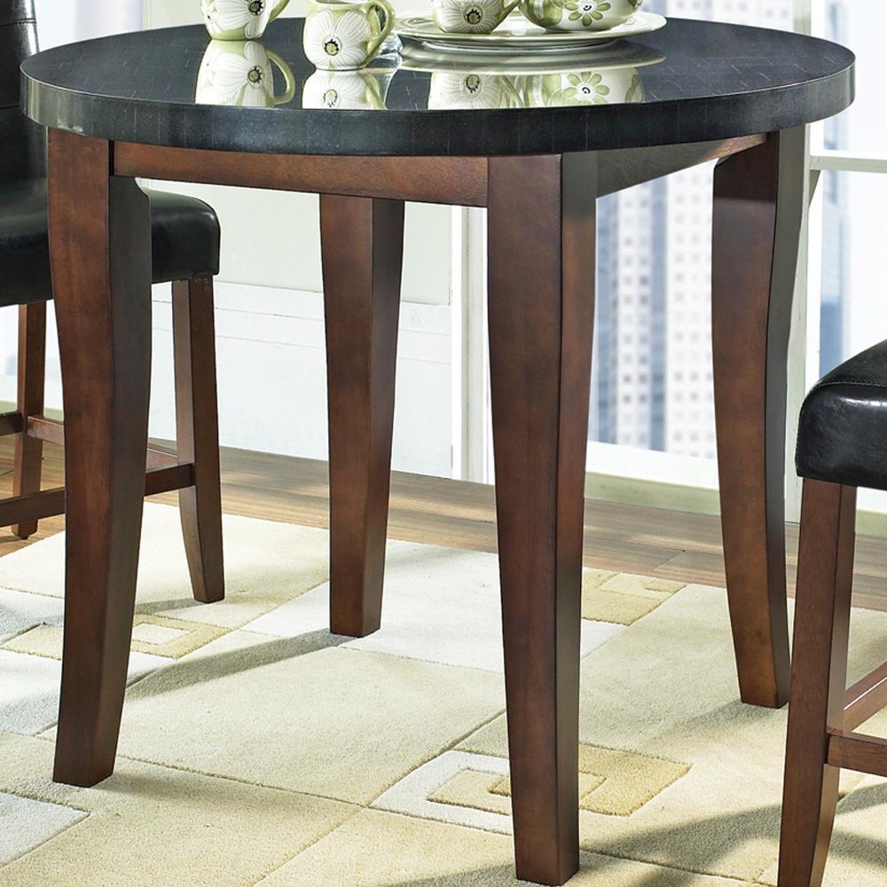 steve silver granite bello mg600pt round granite top. Black Bedroom Furniture Sets. Home Design Ideas