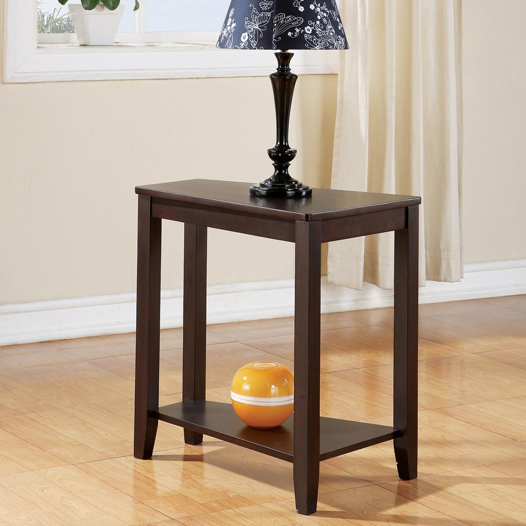 Star Joel Casual Chairside End Table with Shelf EFO