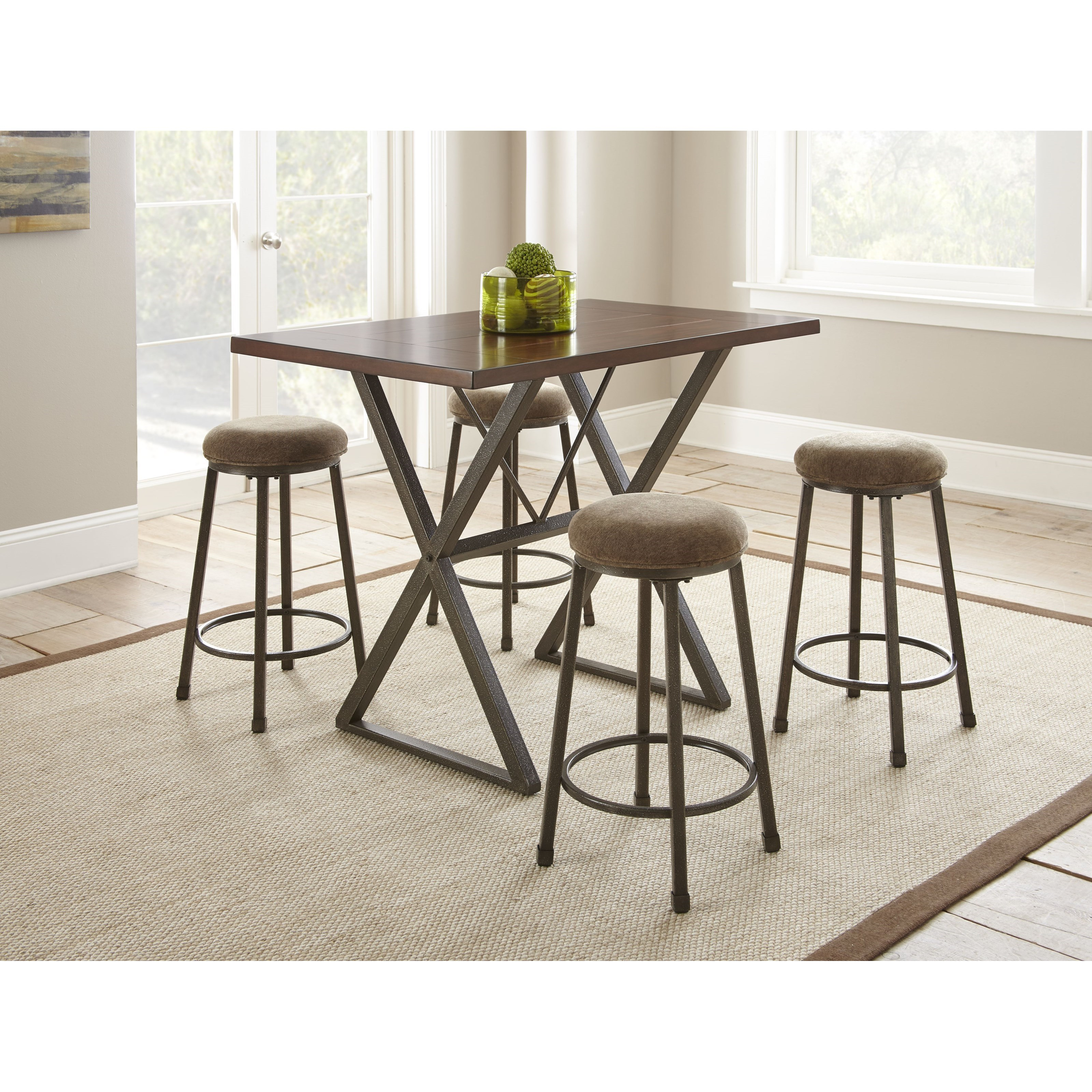 Omaha Counter Height Bar Stool With Upholstered Seat Morris Home Bar Stools