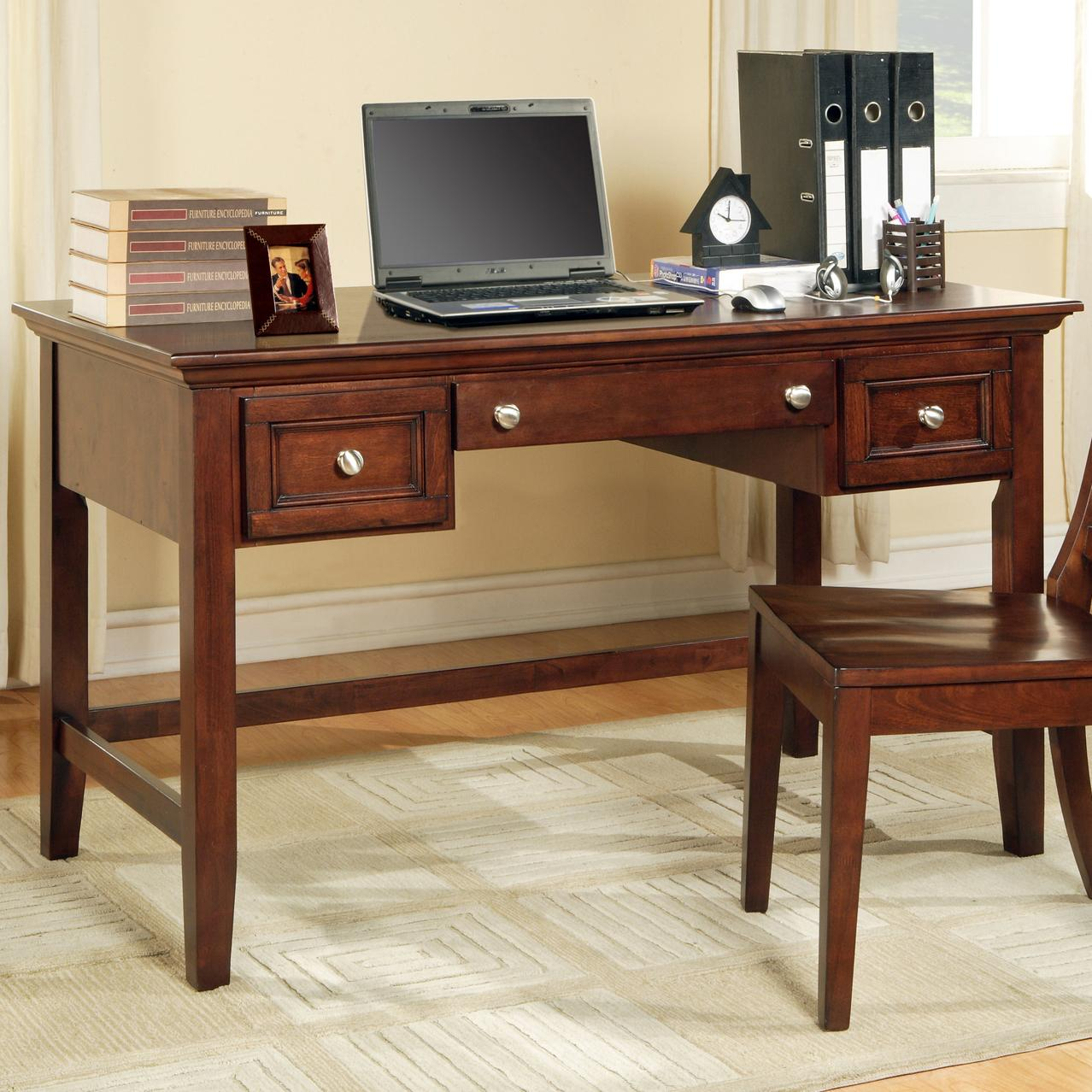 Star Oslo Os150dc Transitional 2 Drawer Writing Desk With