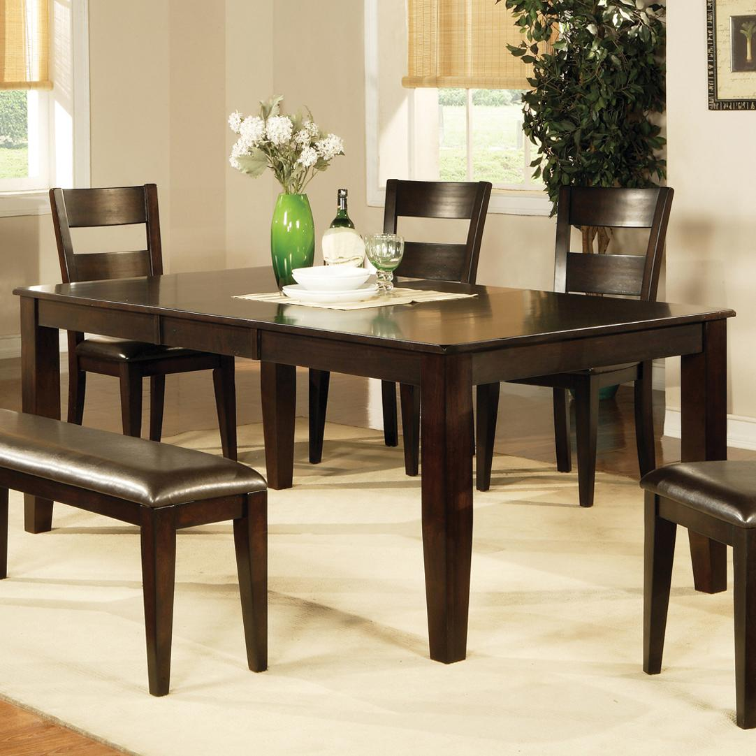 steve silver victoria vc400t victoria dining table with butterfly leaf furniture superstore. Black Bedroom Furniture Sets. Home Design Ideas