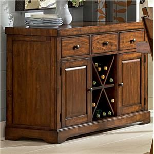 Steve Silver Zappa 2 Door Buffet Server With 3 Drawers