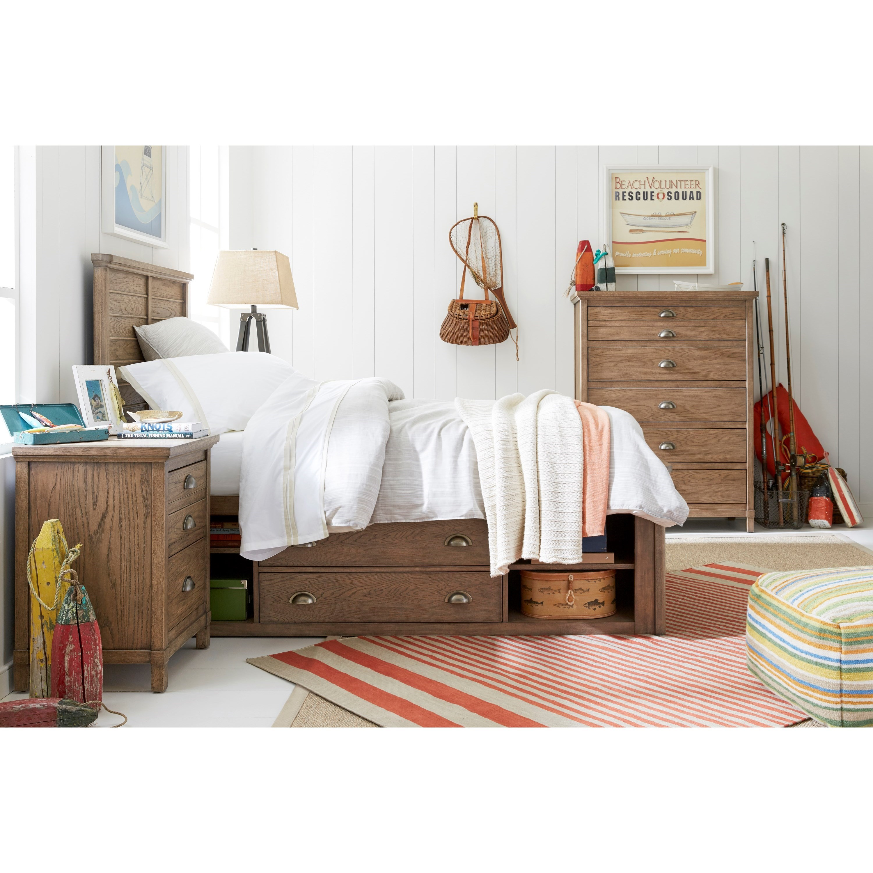 Stone Leigh Furniture Driftwood Park Twin Bedroom Group Belfort Furniture Bedroom Group