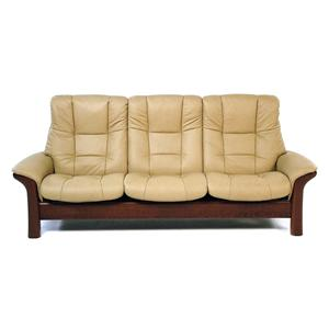Stressless By Ekornes Stressless Buckingham High Back Reclining Sofa