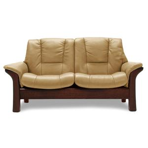 Stressless Buckingham High Back Leather Reclining Sofa By Stressless