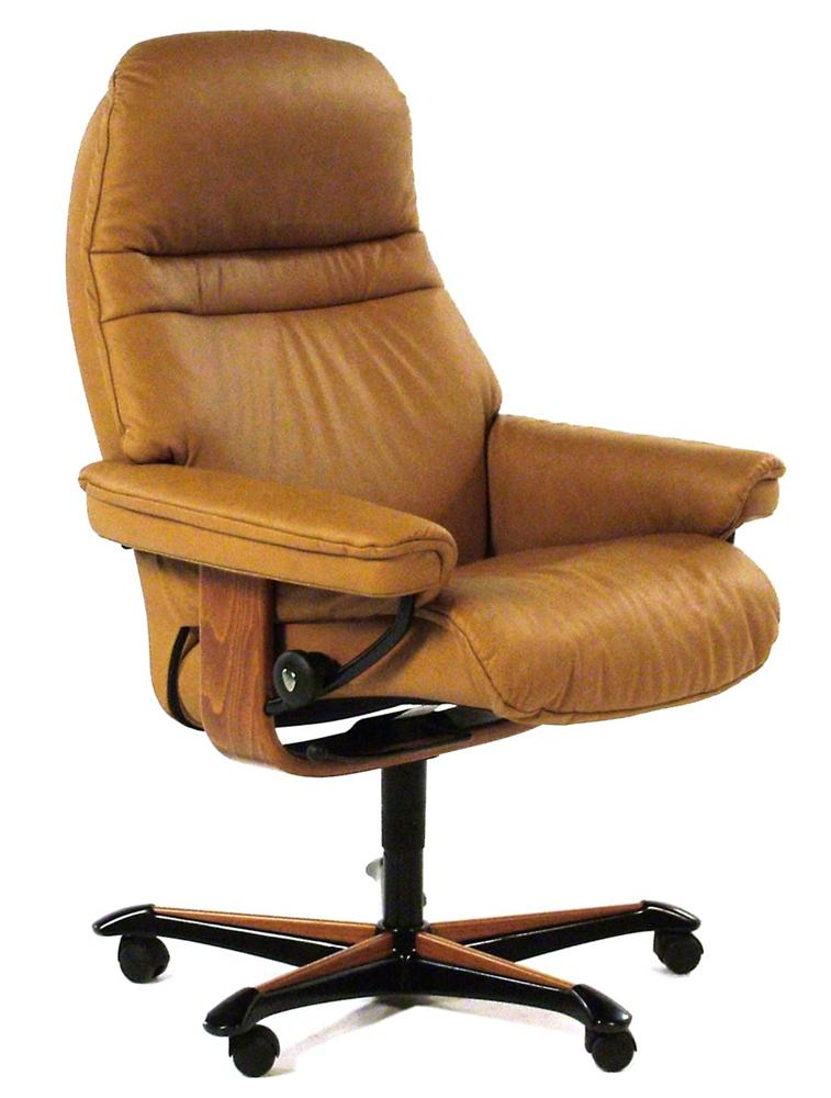 stressless office sunrise medium office chair item number r61181908