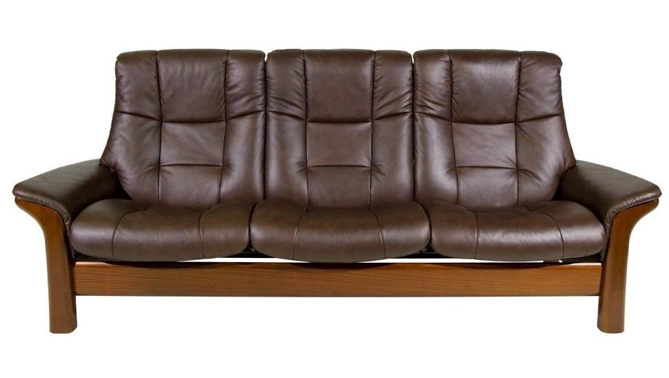 stressless buckingham reclining sofa homeworld furniture reclining sofas. Black Bedroom Furniture Sets. Home Design Ideas