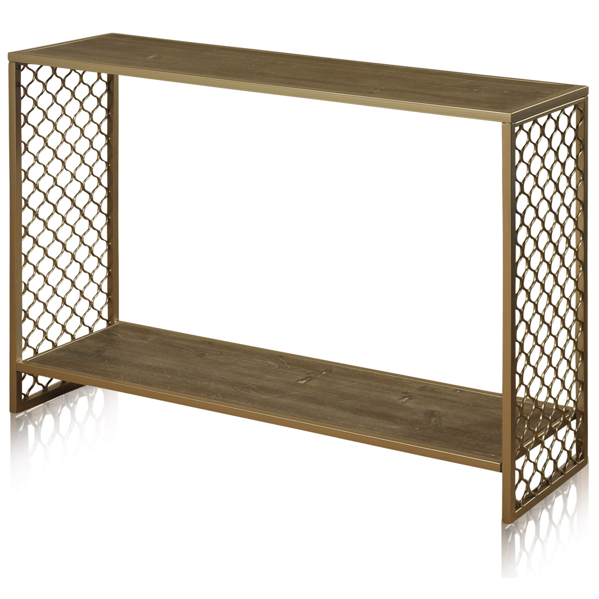 stylecraft occasional tables sf24582 wrought iron console