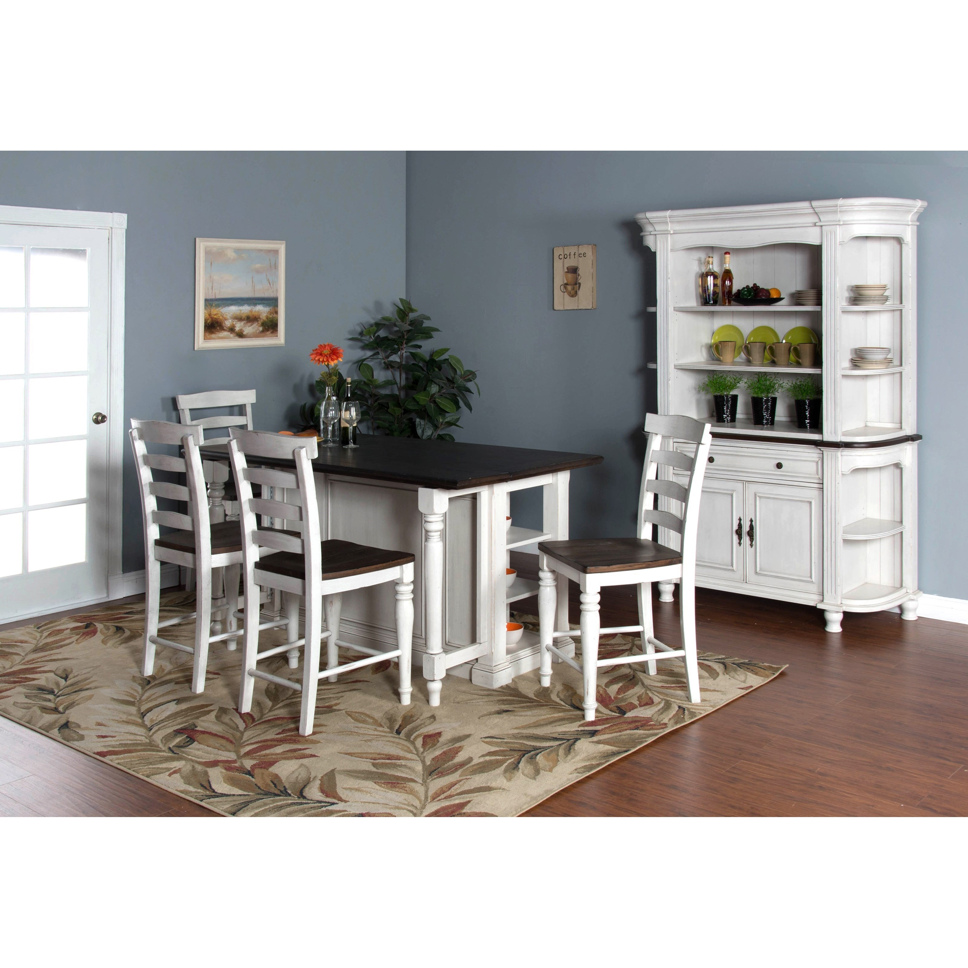 sunny designs bourbon county casual dining room group. Black Bedroom Furniture Sets. Home Design Ideas