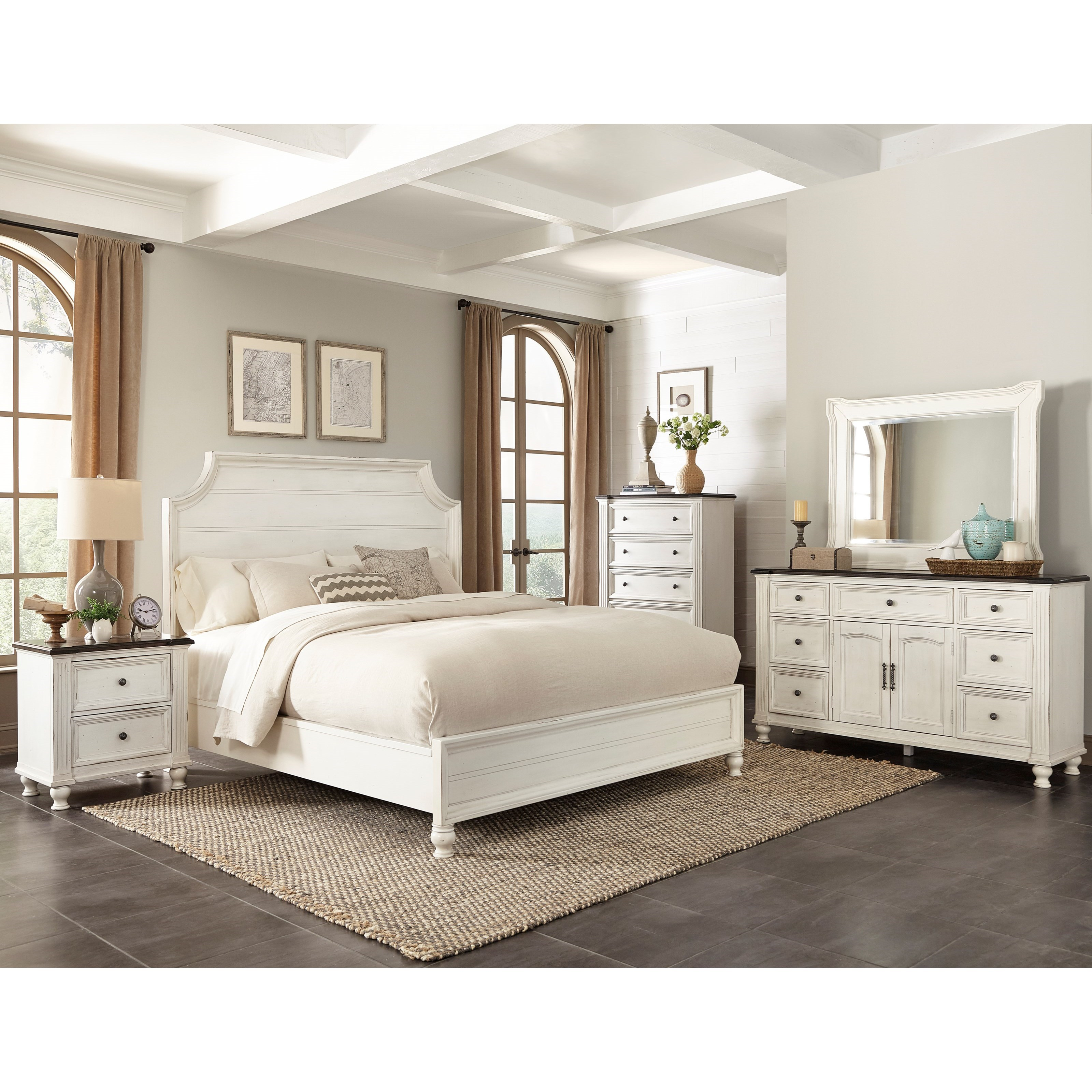 Sunny designs carriage house 2308ec n 2 drawer night stand john v schultz furniture night stands for Sunny designs bedroom furniture