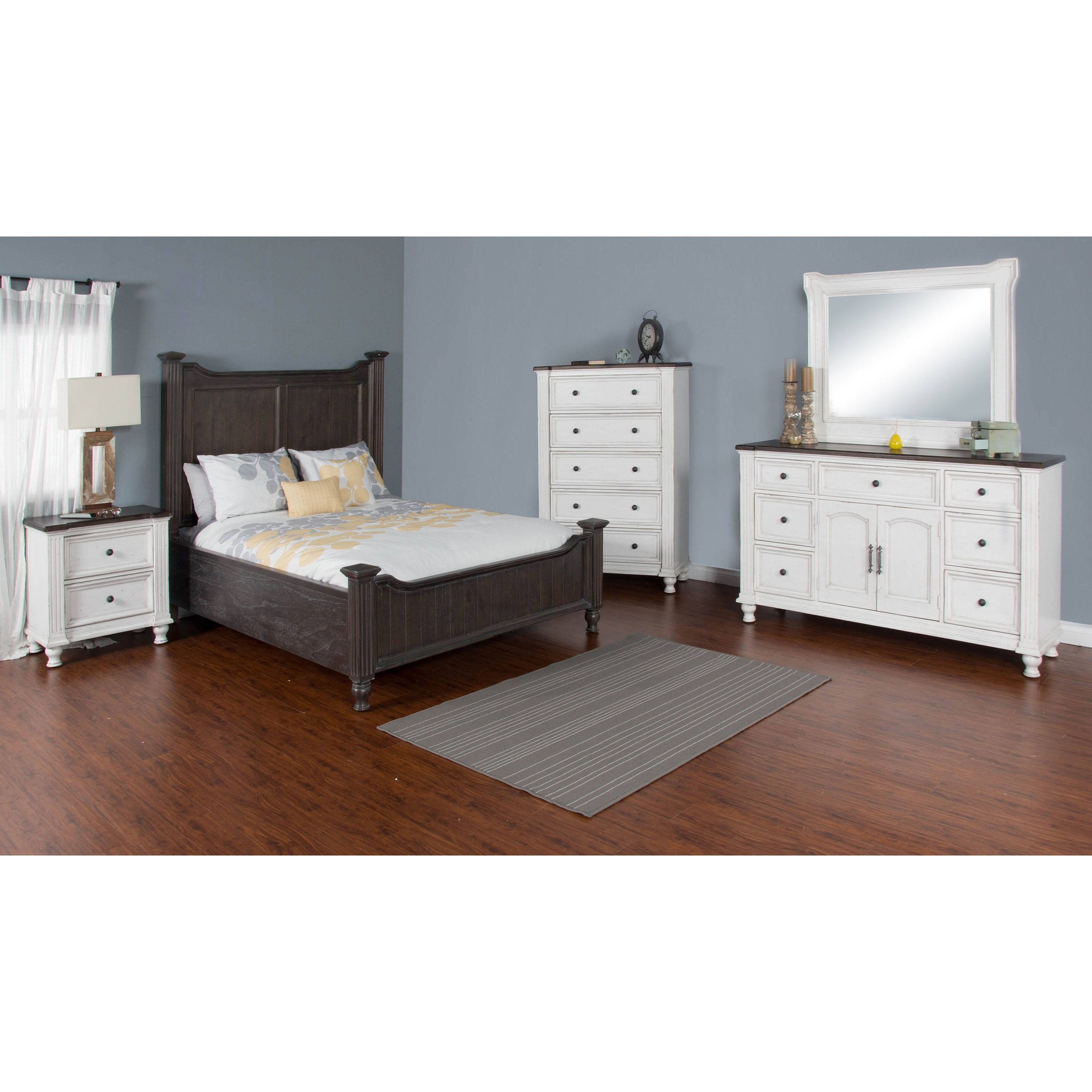 Sunny designs carriage house queen bedroom group conlin 39 s furniture bedroom groups for Sunny designs bedroom furniture